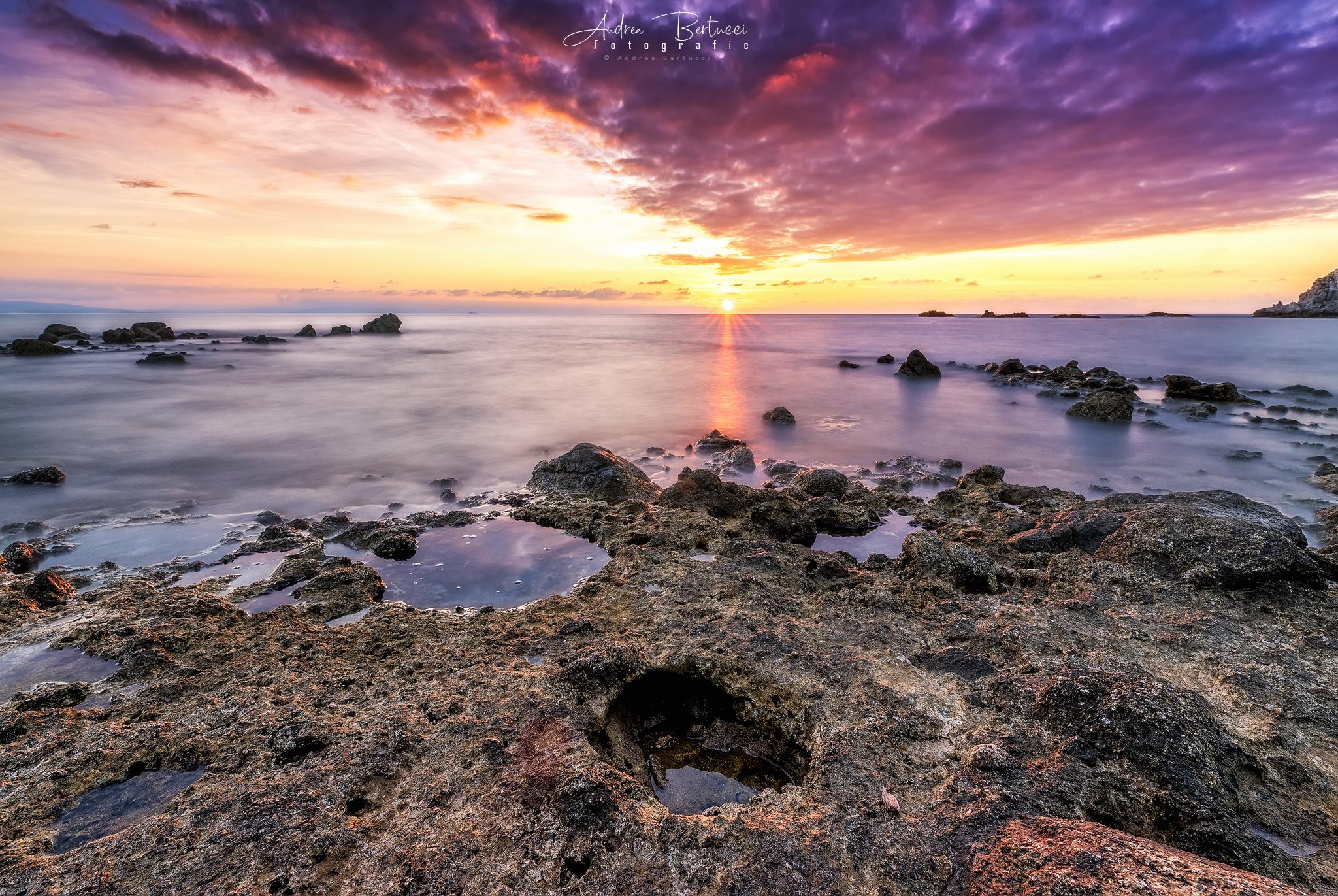 Mystic sunset...