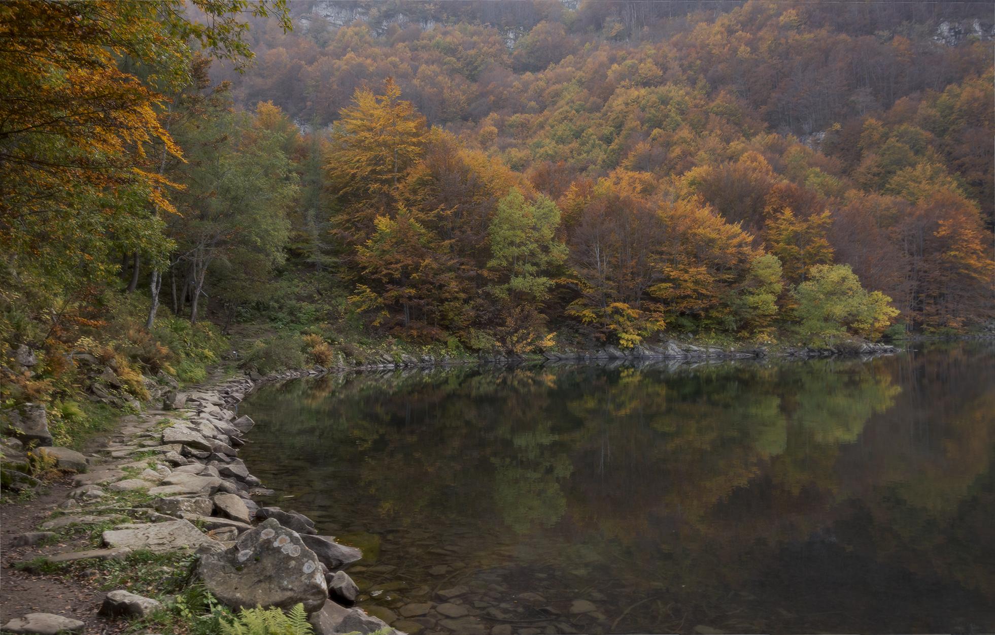 Lago Santo...
