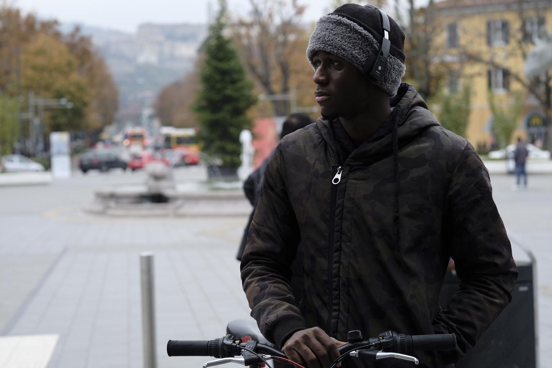 Street City of Bergamo...