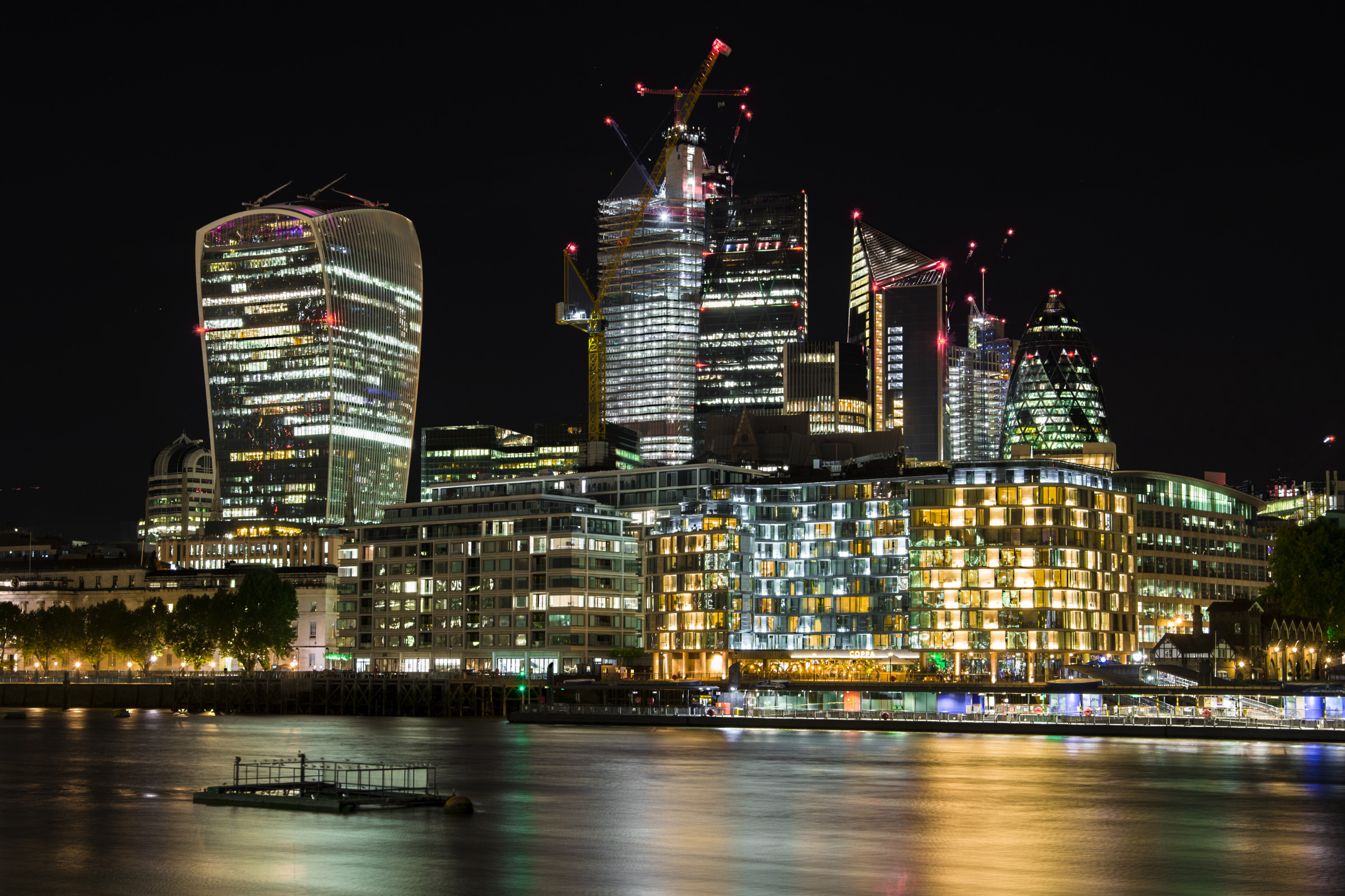 Londra una città sempre in movimento, L'alveare...