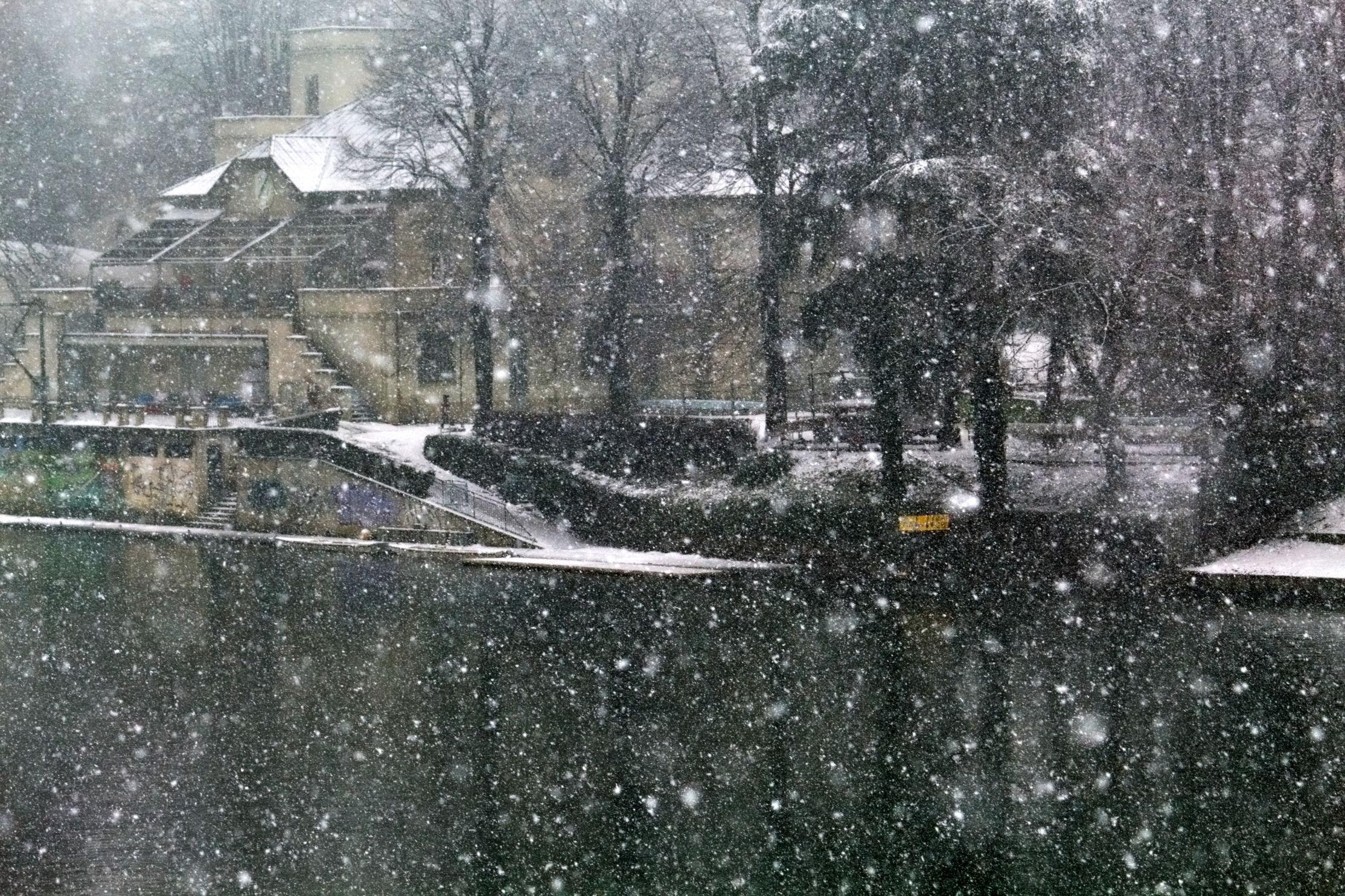Snowed on the OP...