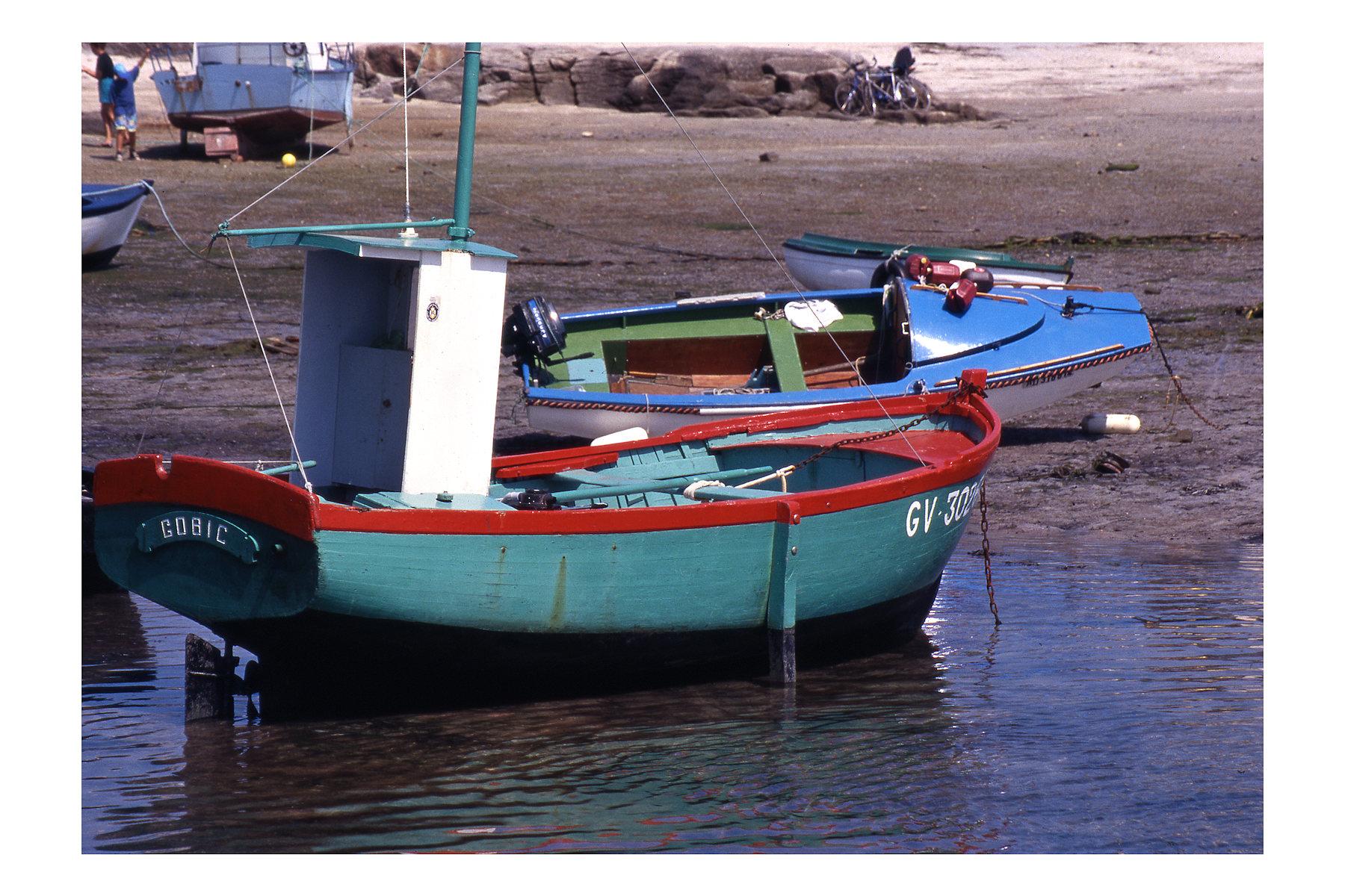 Barca da pesca tradizionale....