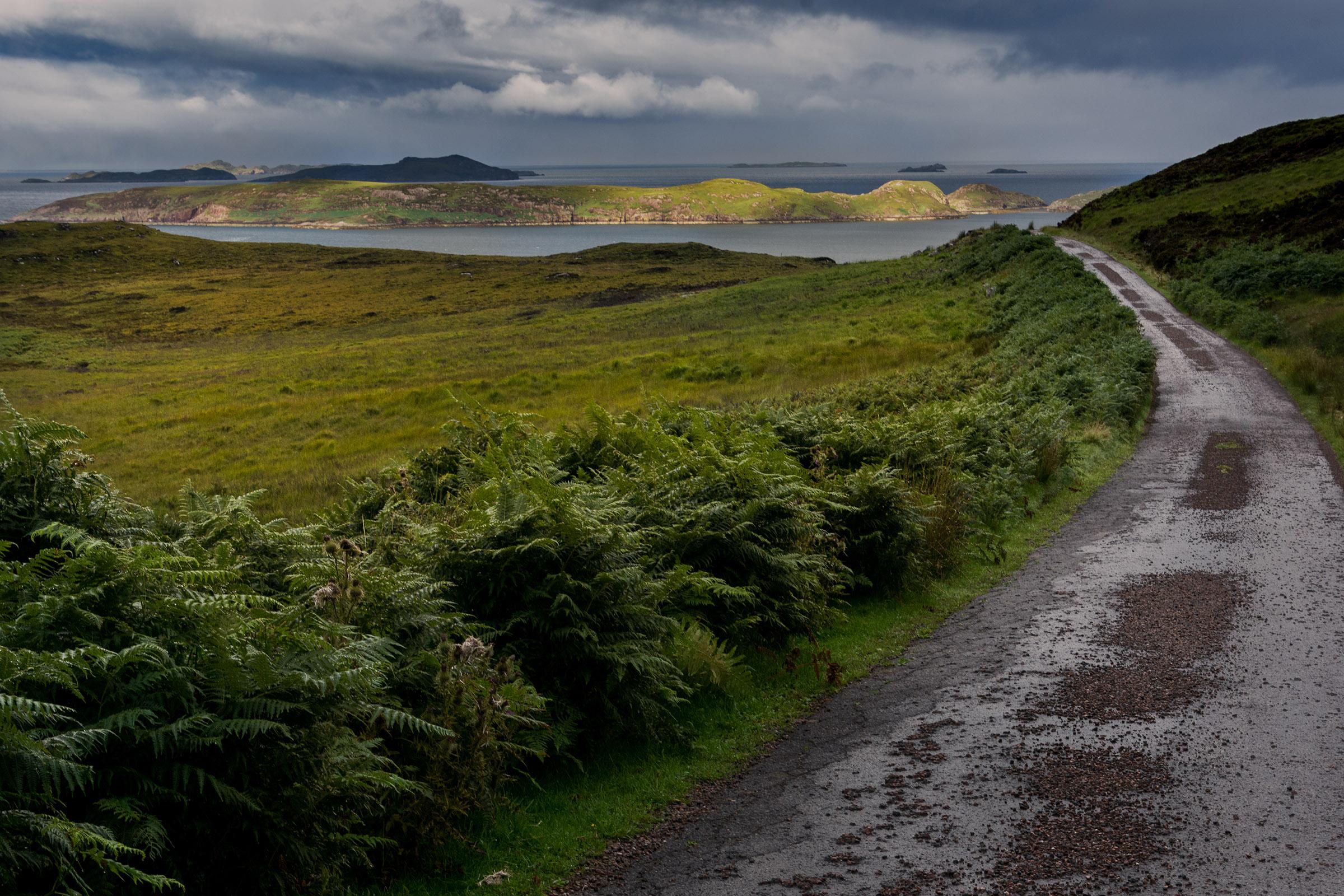 Io e le Highlands...