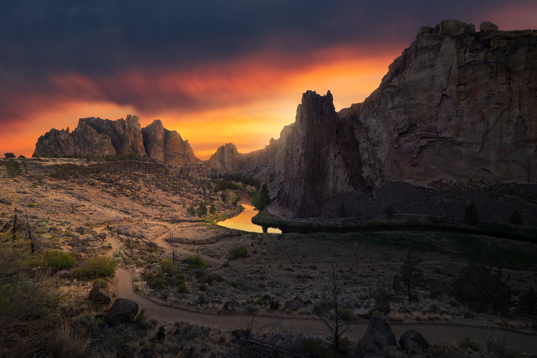Smith Rock, Oregon...