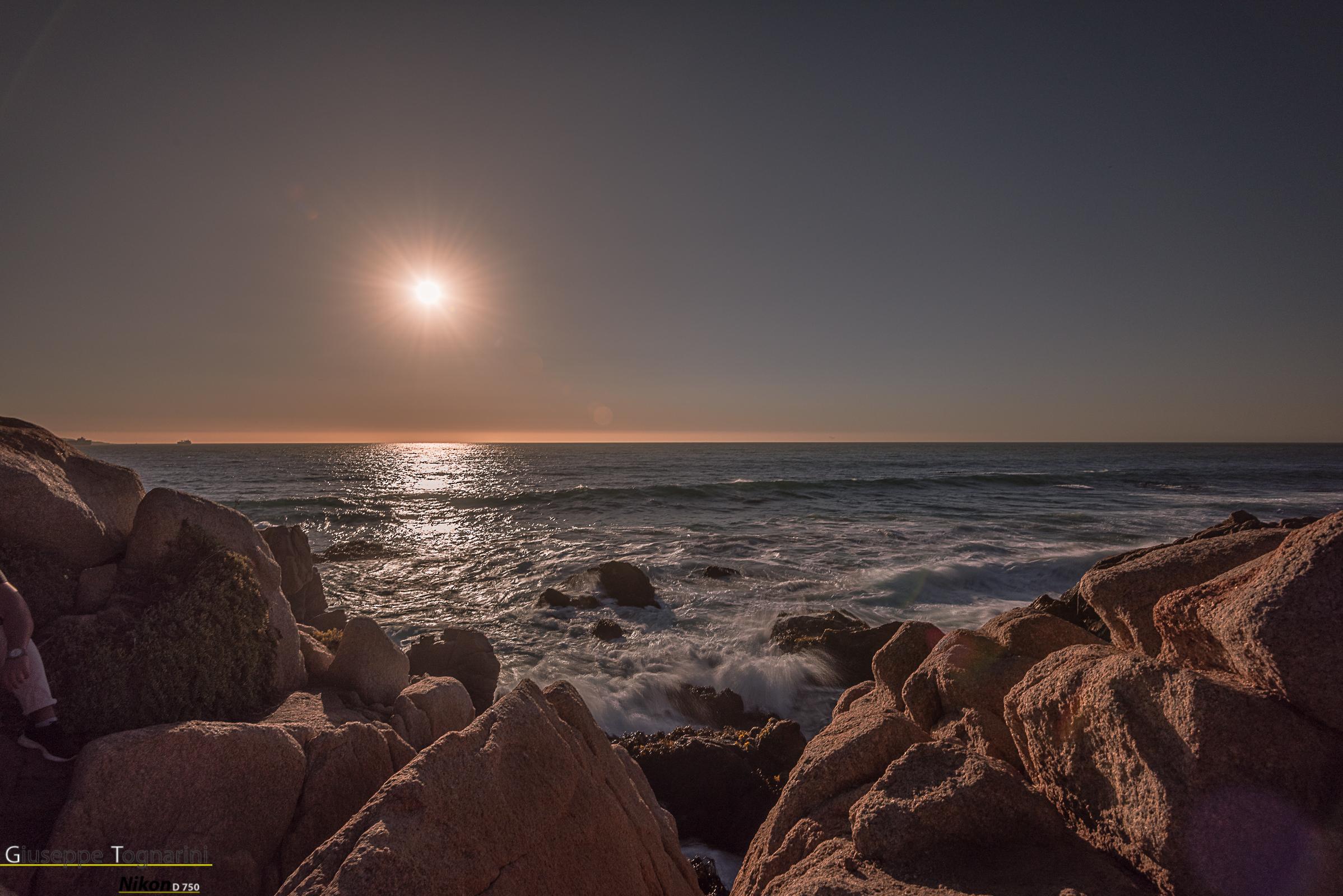 Finally the Pacific (Chilean coast)...