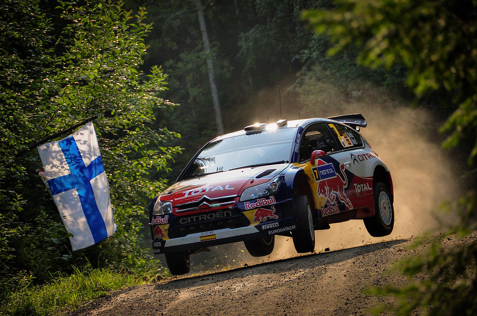 WRC neste Oil Rally Finland 2010-Deaf/Marti...