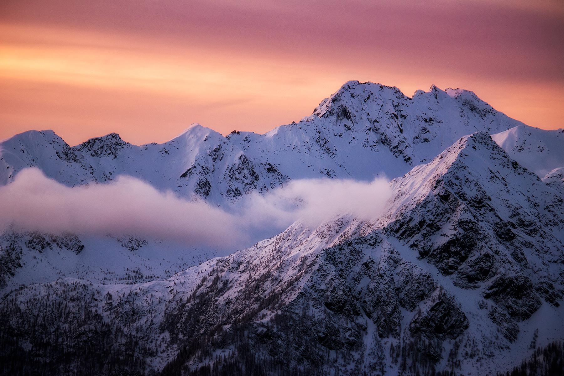 Snowy dawn...