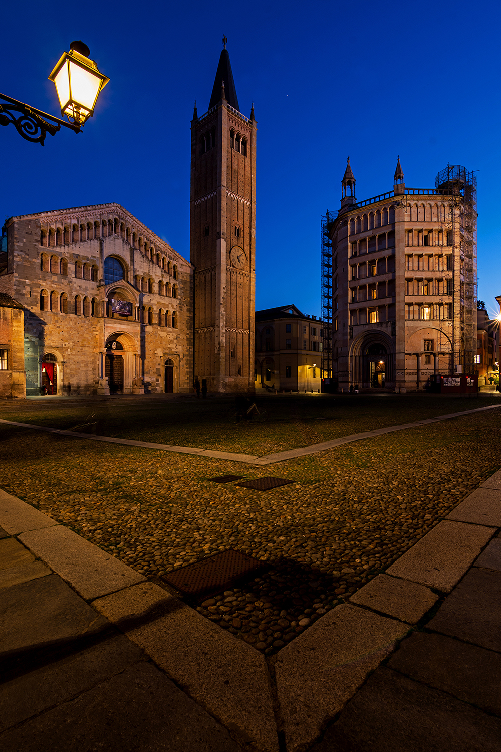 The Blue Hour of Parma...