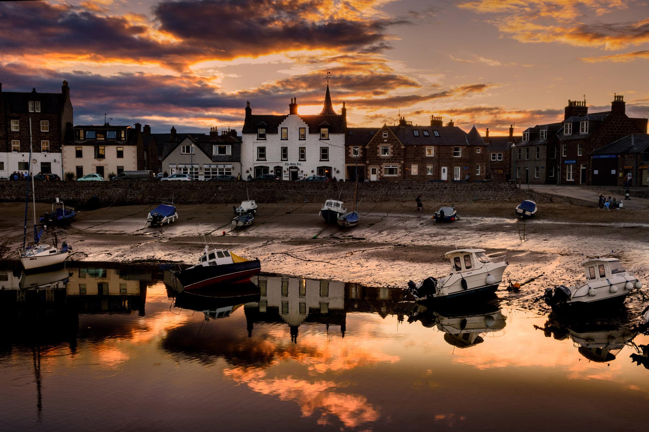 Low tide evening...