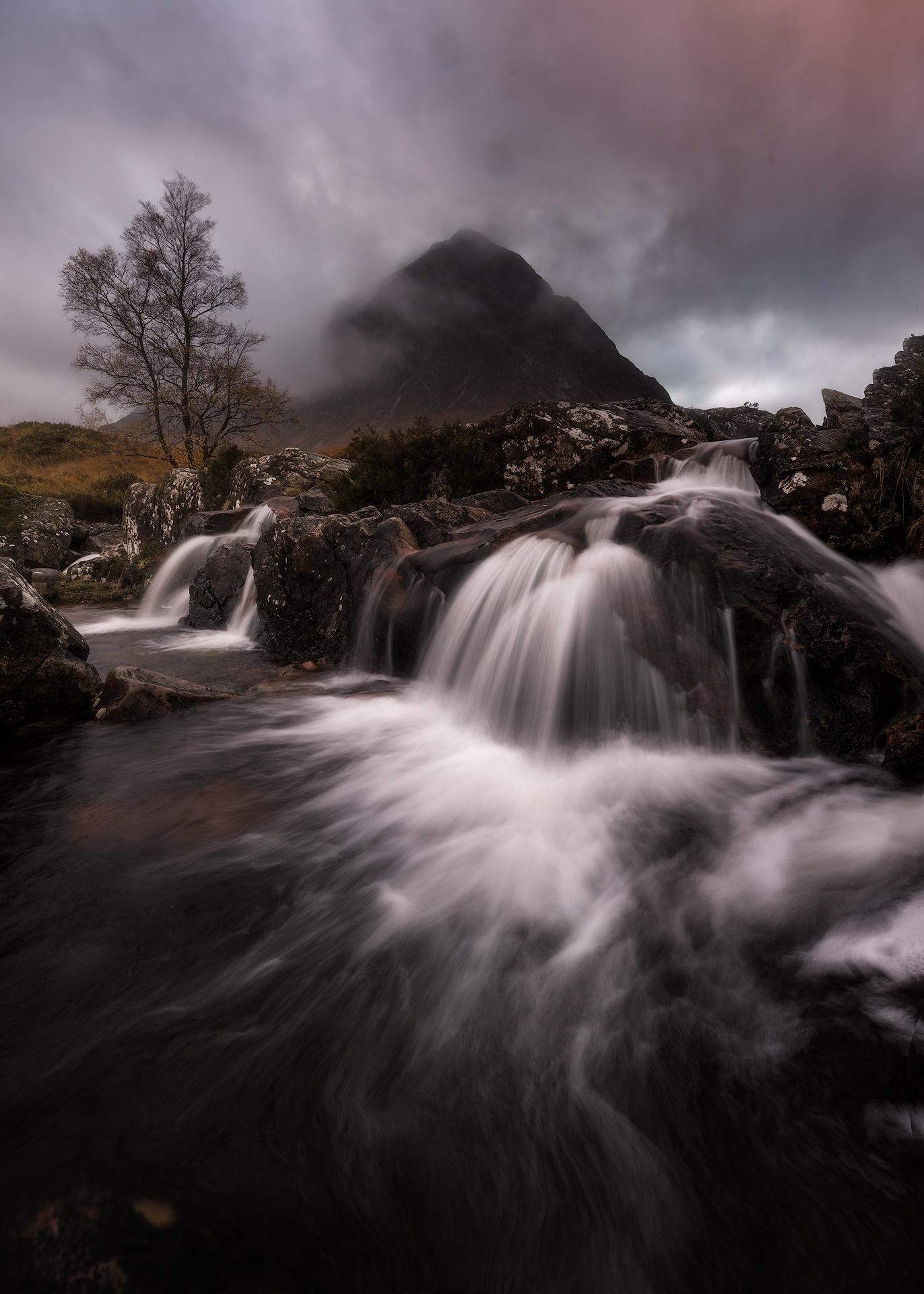 Etive Mor Waterfall...