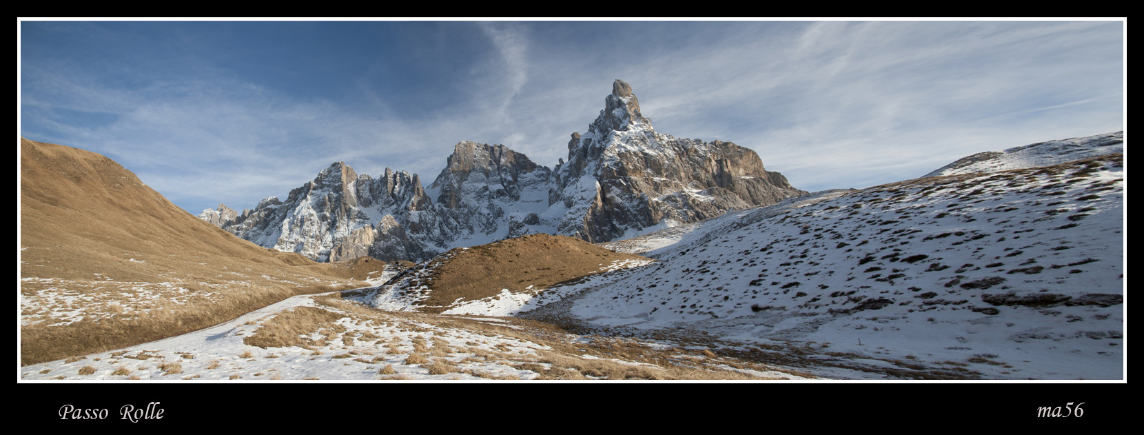 Passo Rolle - overview...