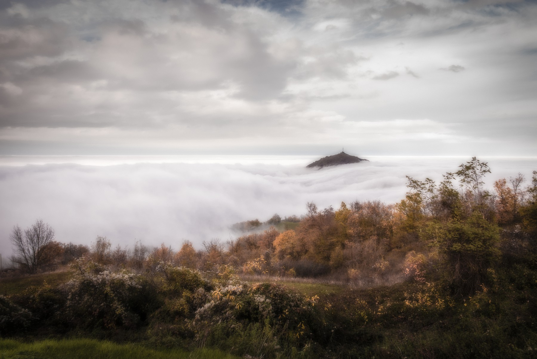 Isola nel mare di nebbia 1...