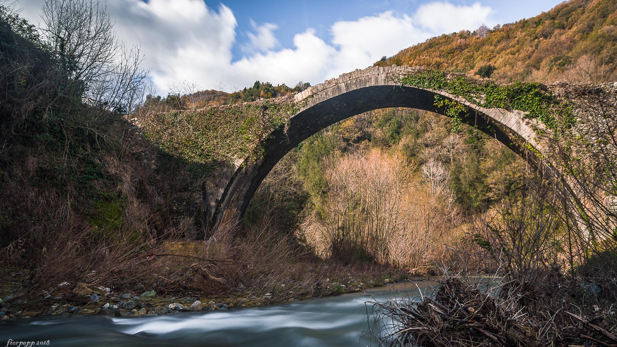 Oldest Roman bridge in Italy...