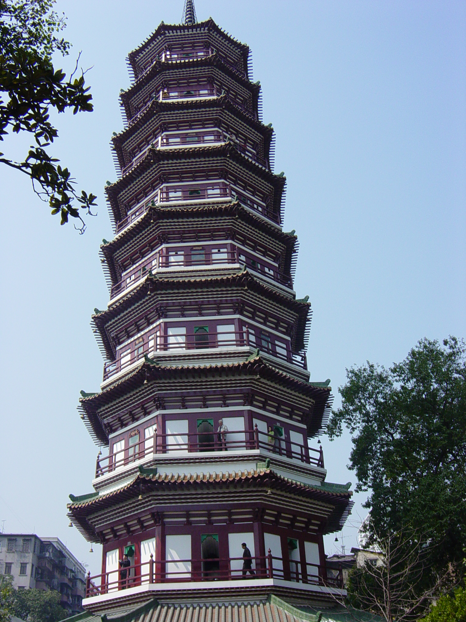 Flower Pagoda in Canton...