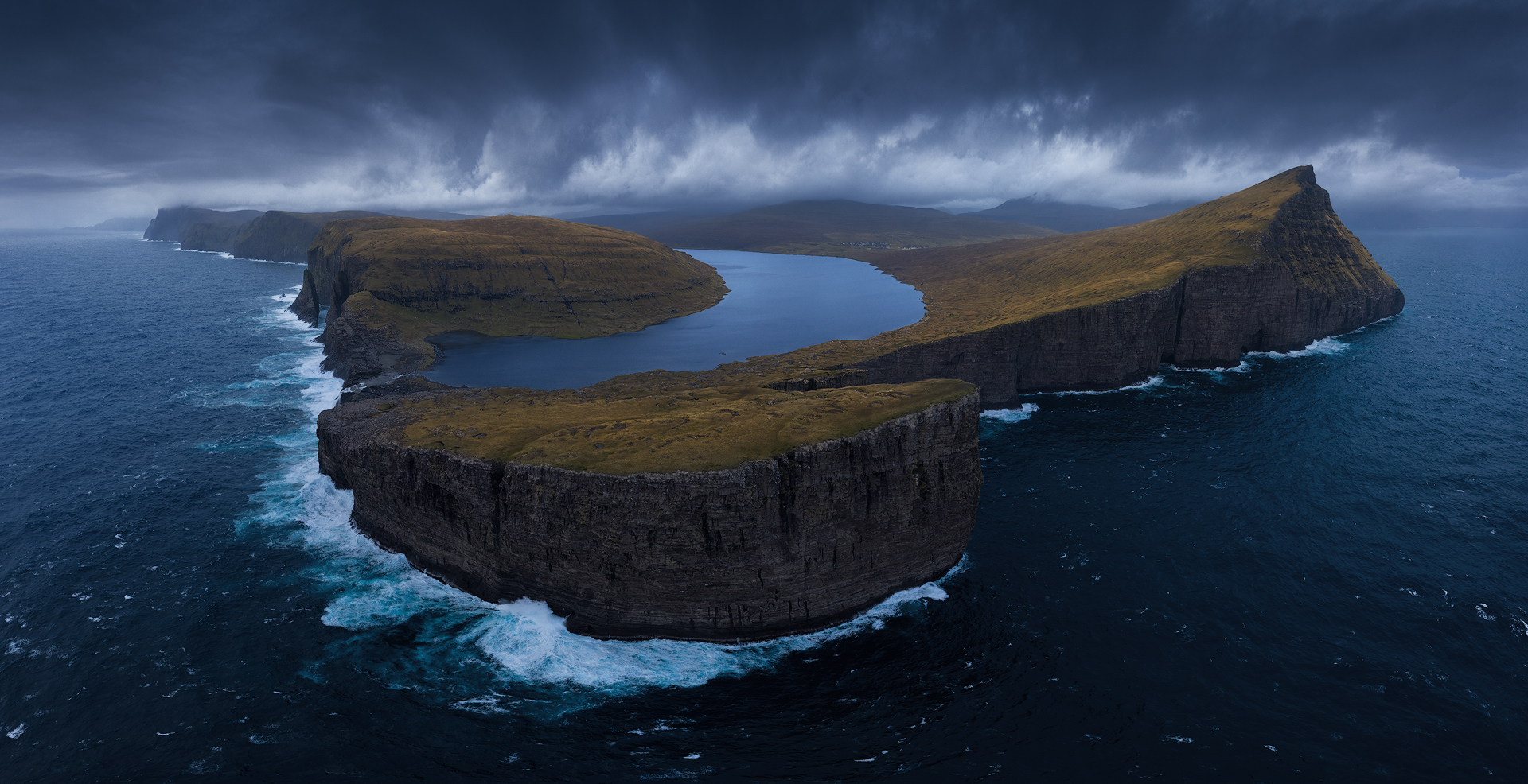 Aerial Faroe...