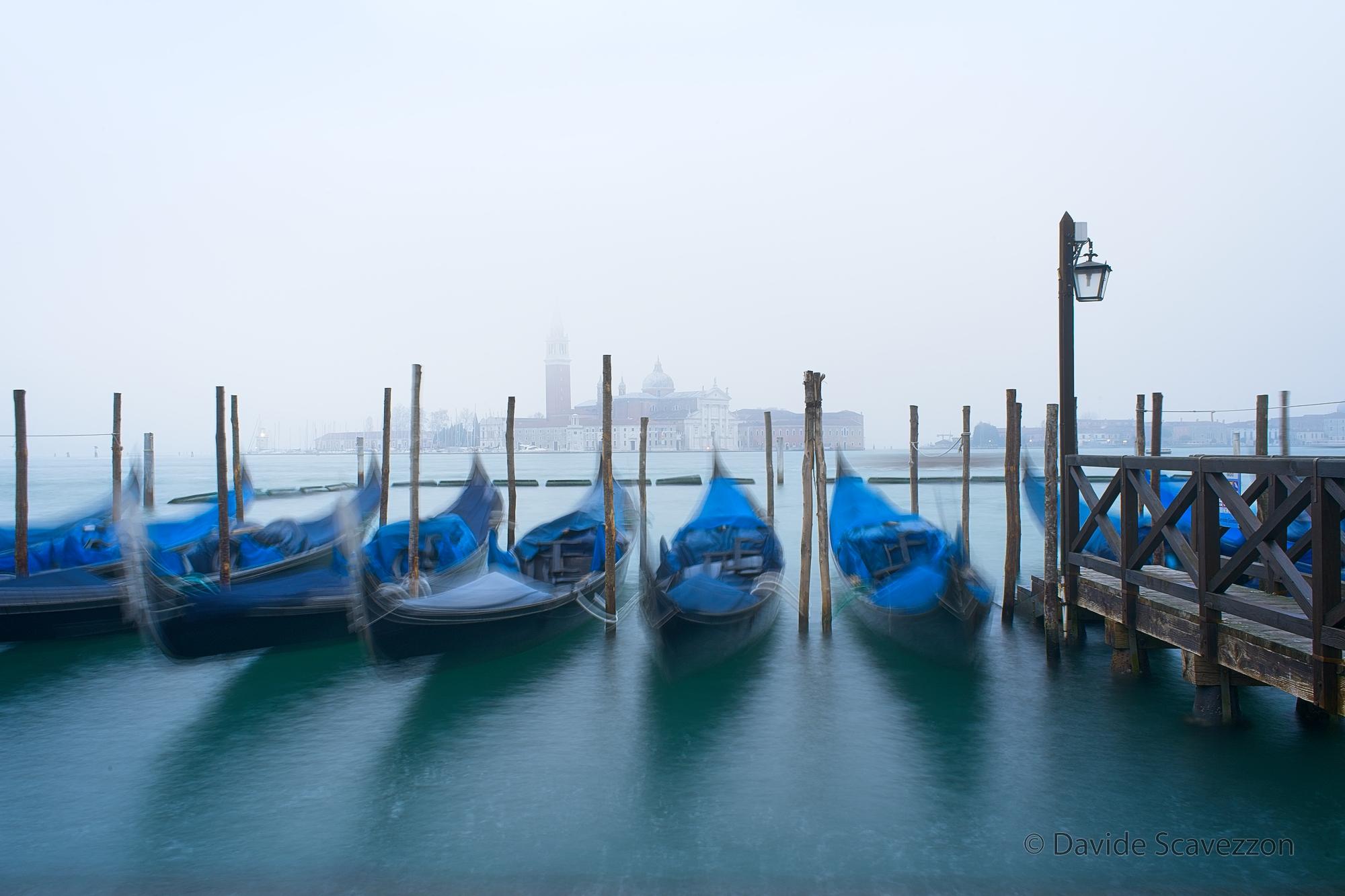 Misty Sunrise in Venice...