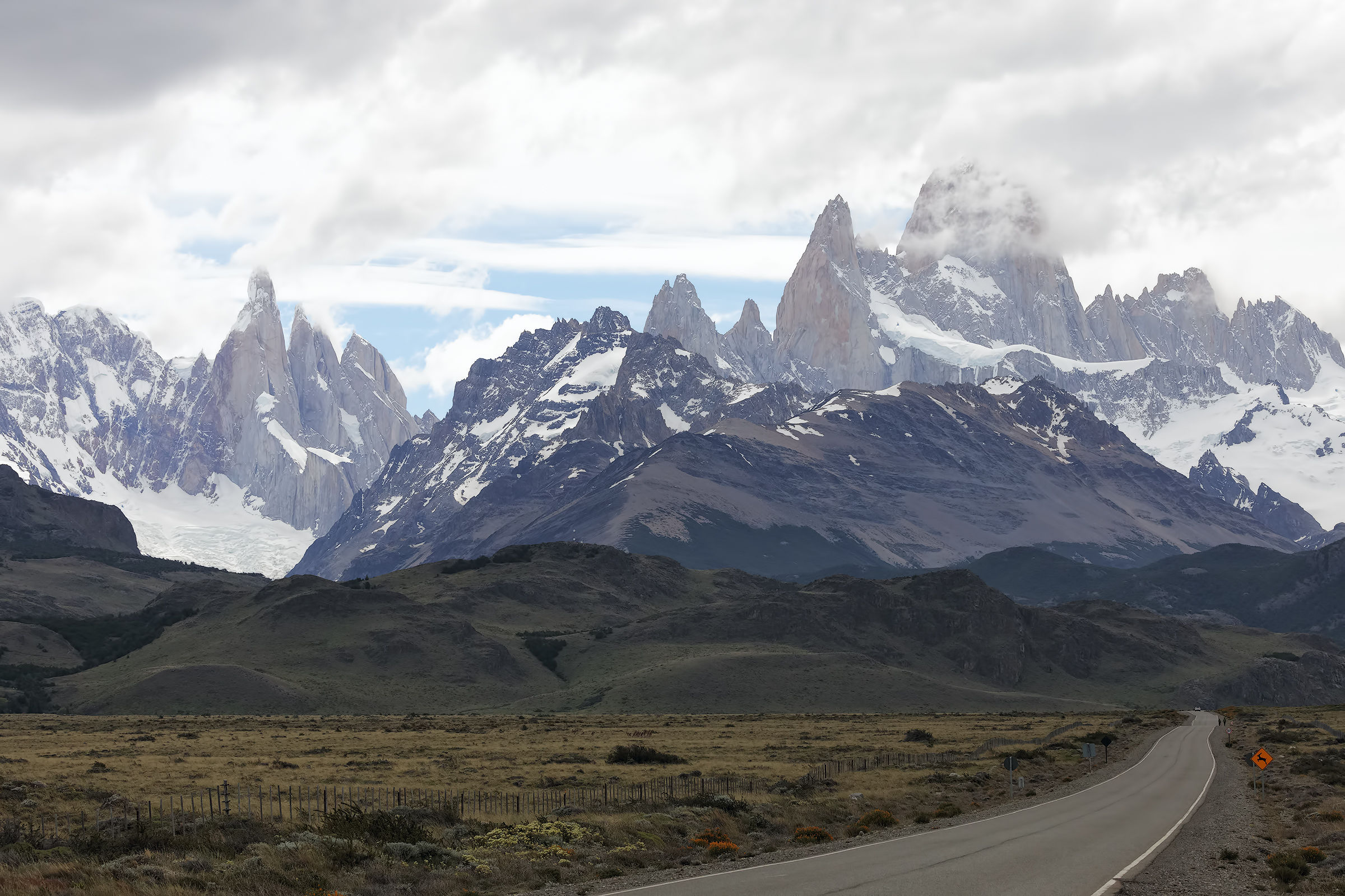 On the way to the Fitz Roy...