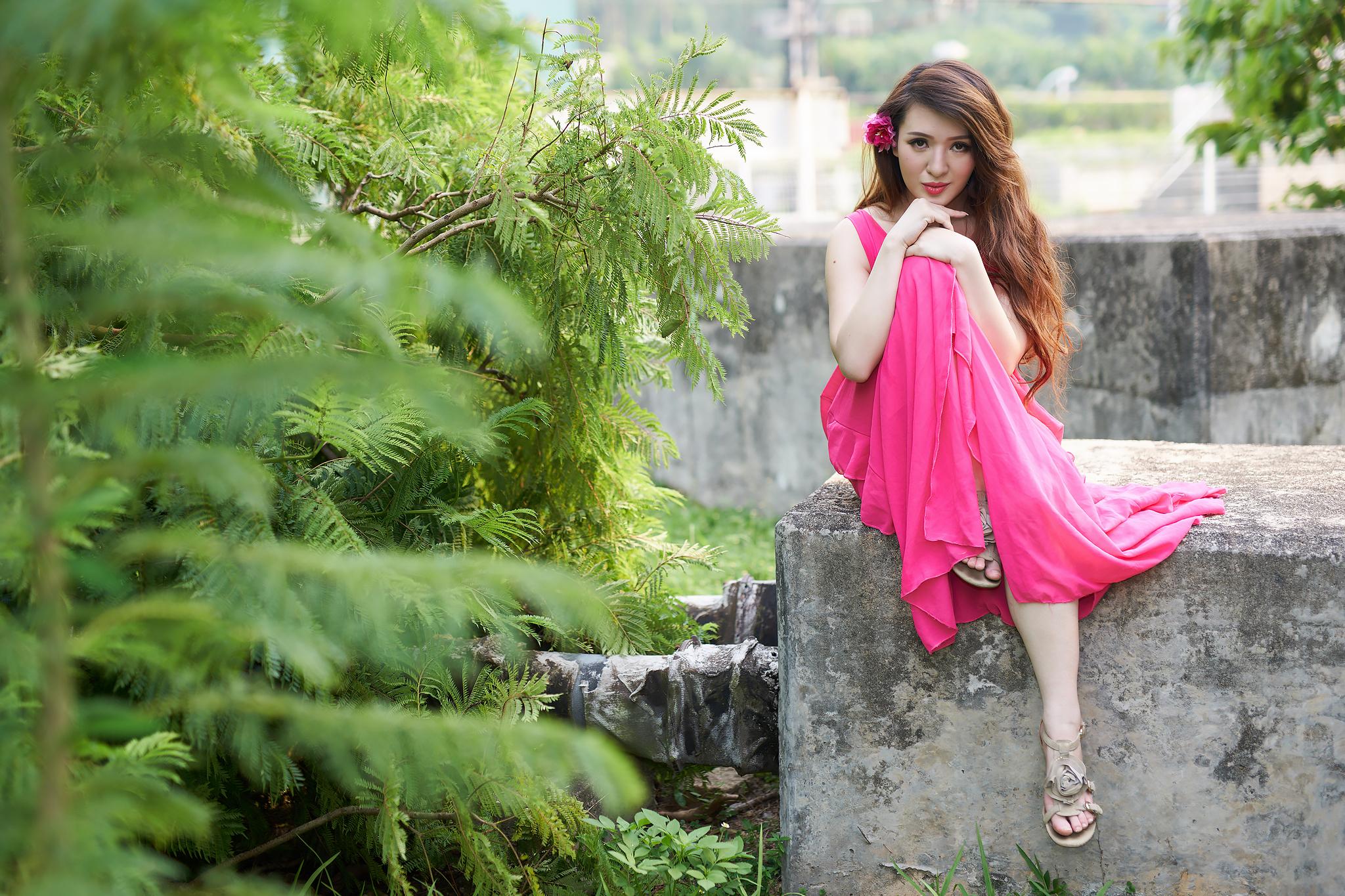 Korean style pose...