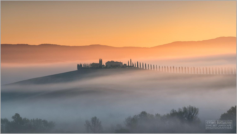 Poggio Covili at dawn...