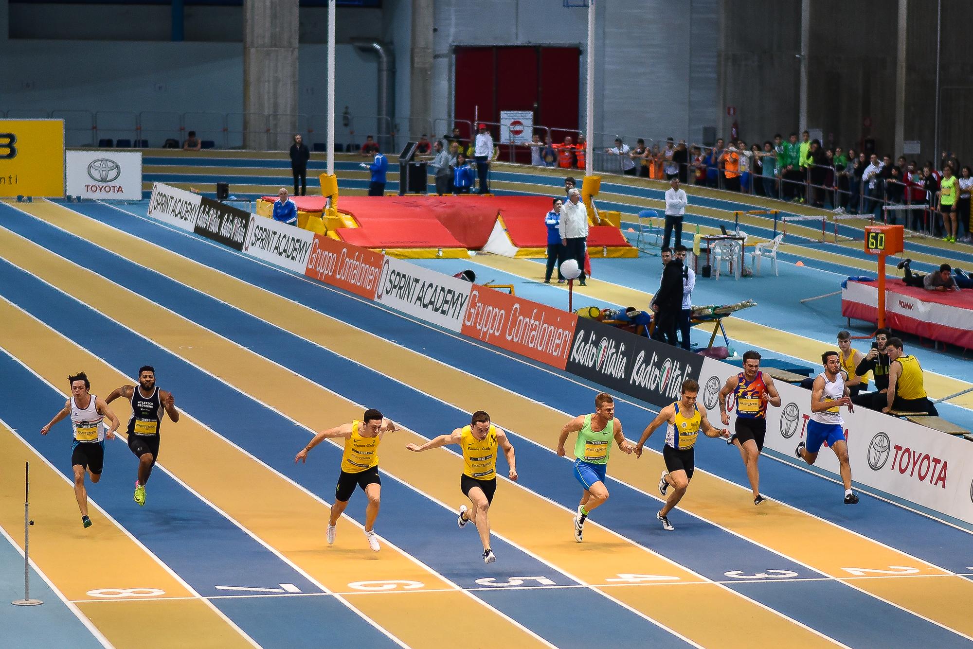 Tortu finale 60 m Assoluti Indoor Ancona 2019...