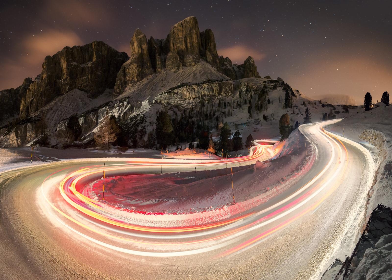 Le luci delle Dolomiti...
