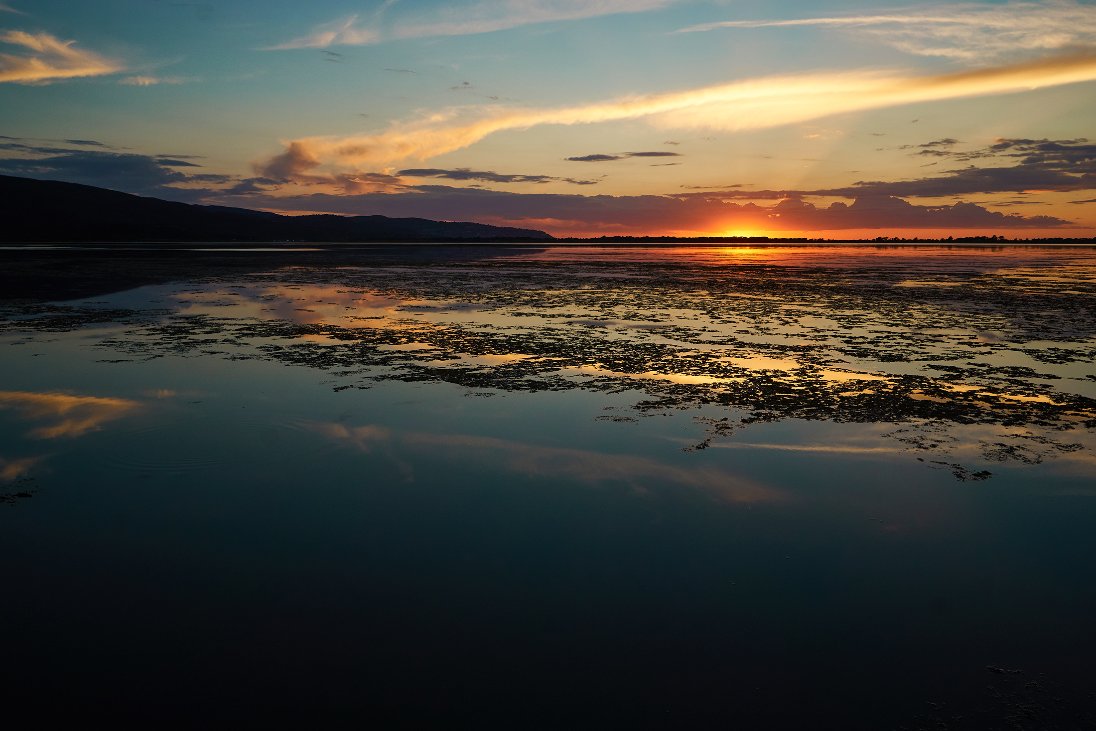 West Lagoon, Sunset...