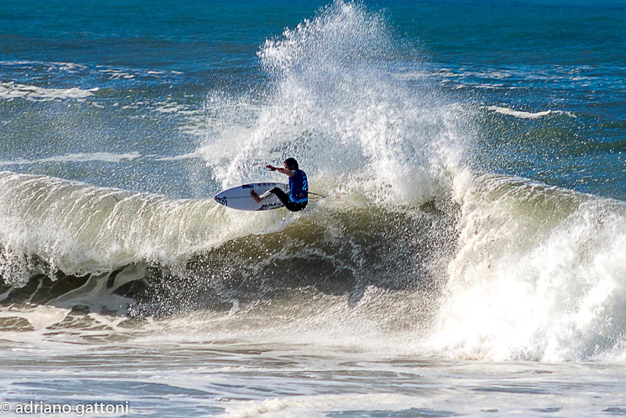 Portugal beach of Peniche, World surf Legue...