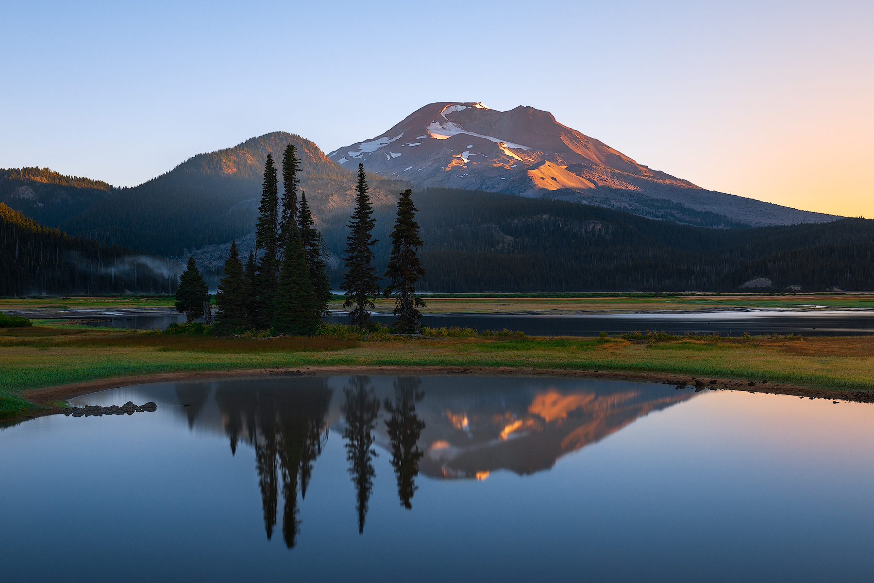 South Sister Reflection...