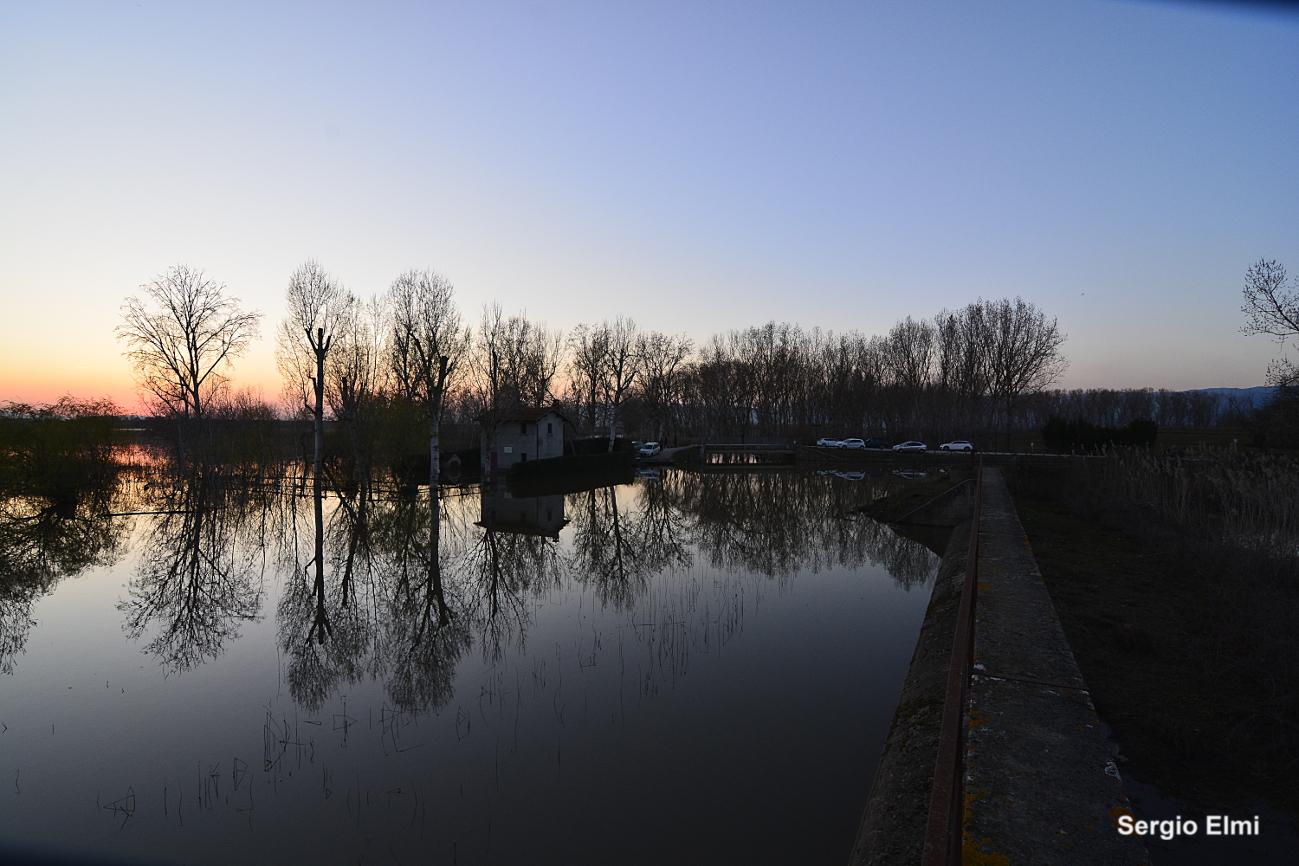 Riflessi al tramonto...