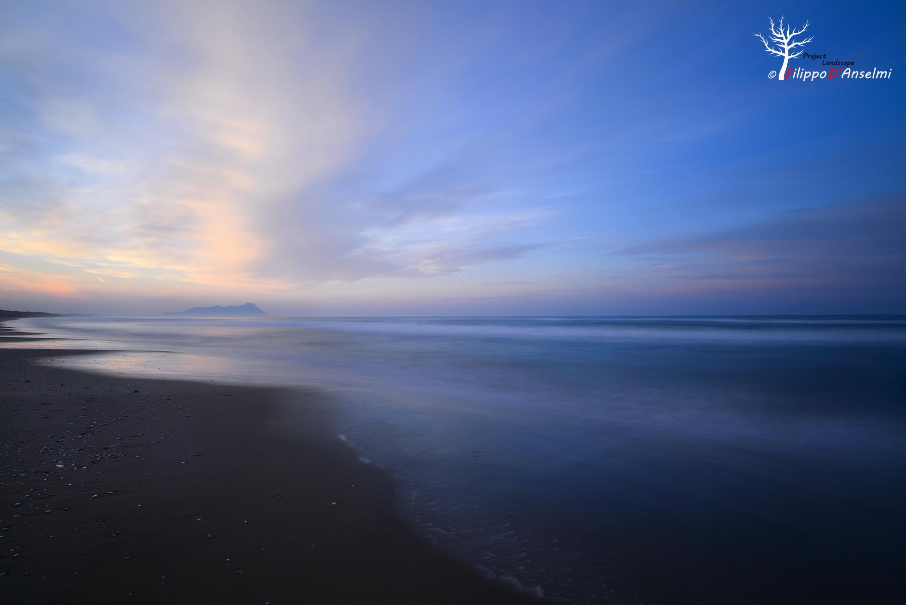 Lazio coast...