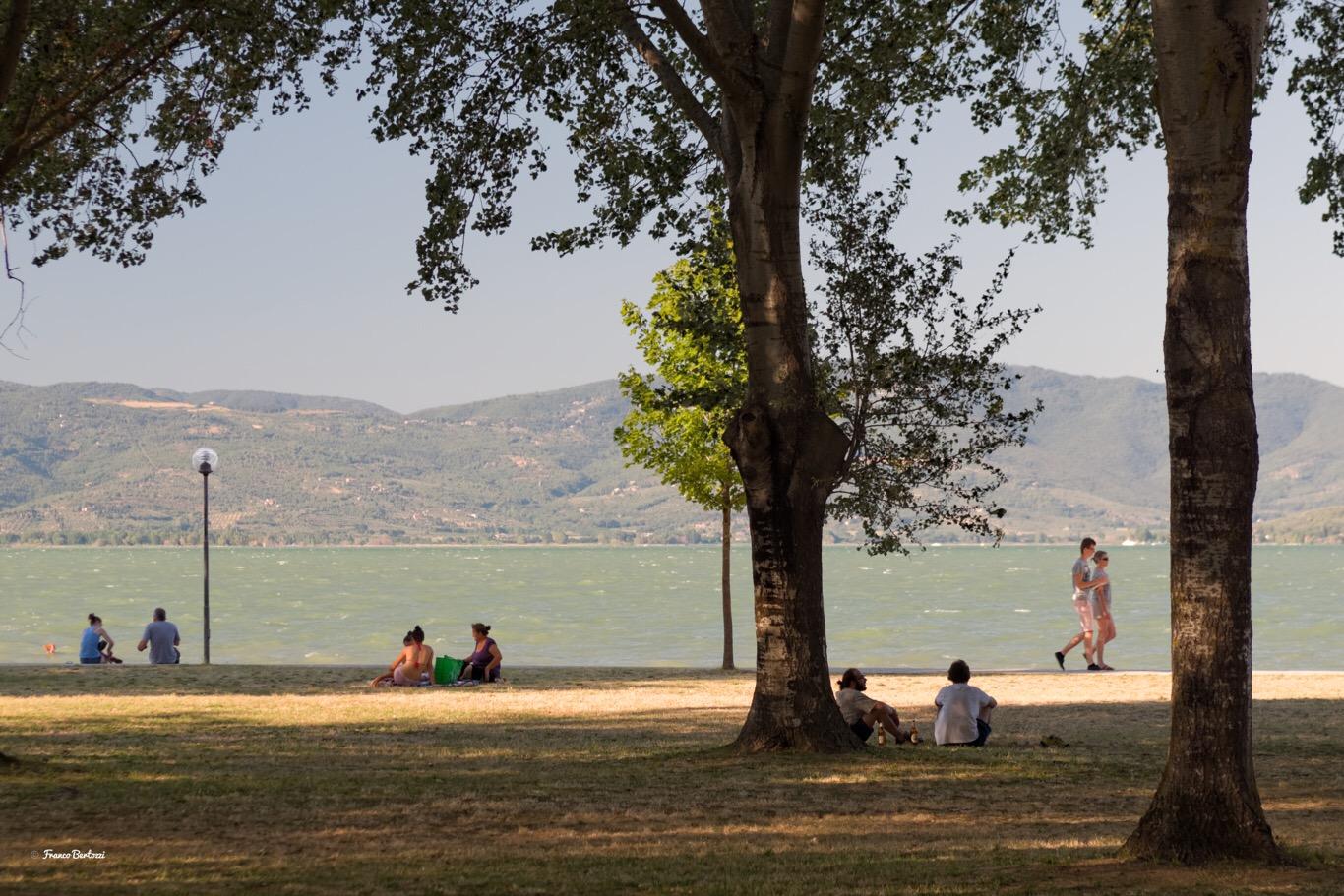 Al lago...