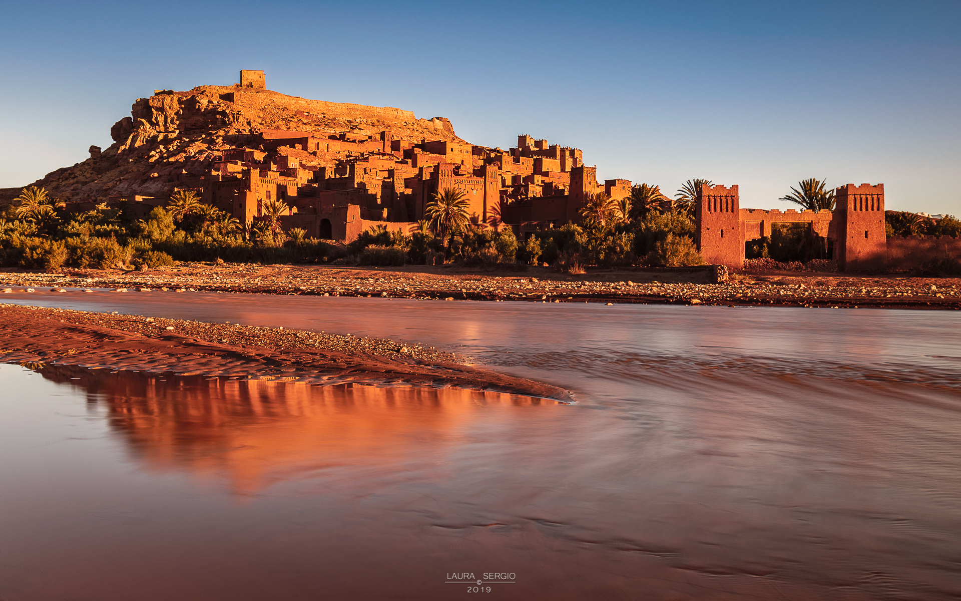 The Kasbah wakes up...