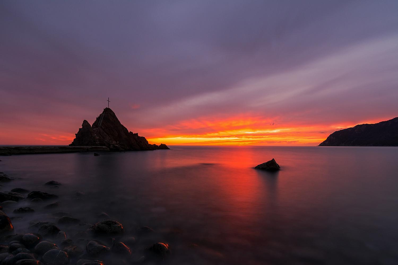 La dolce quiete di un tramonto...
