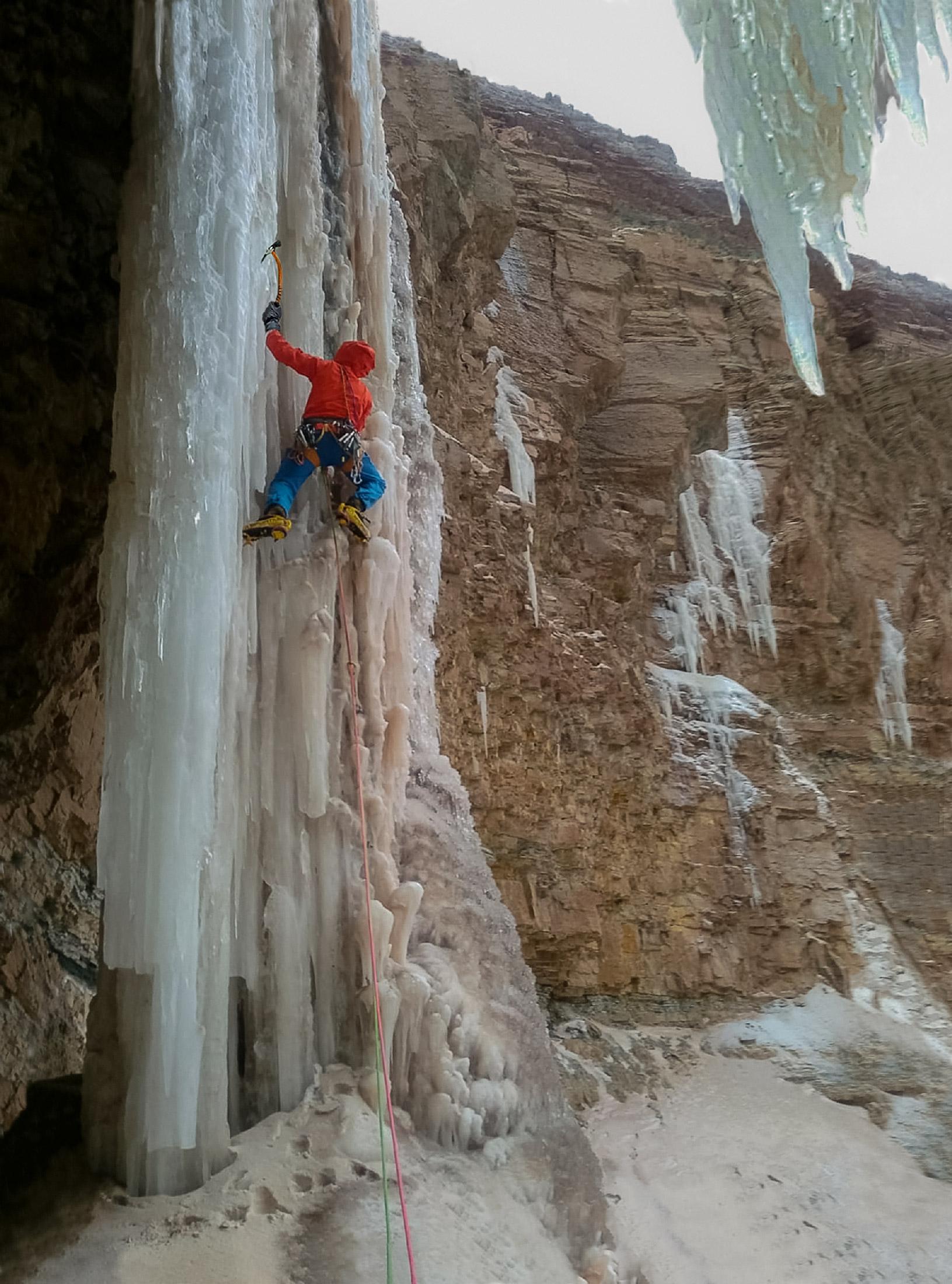 Pillars of Ice...