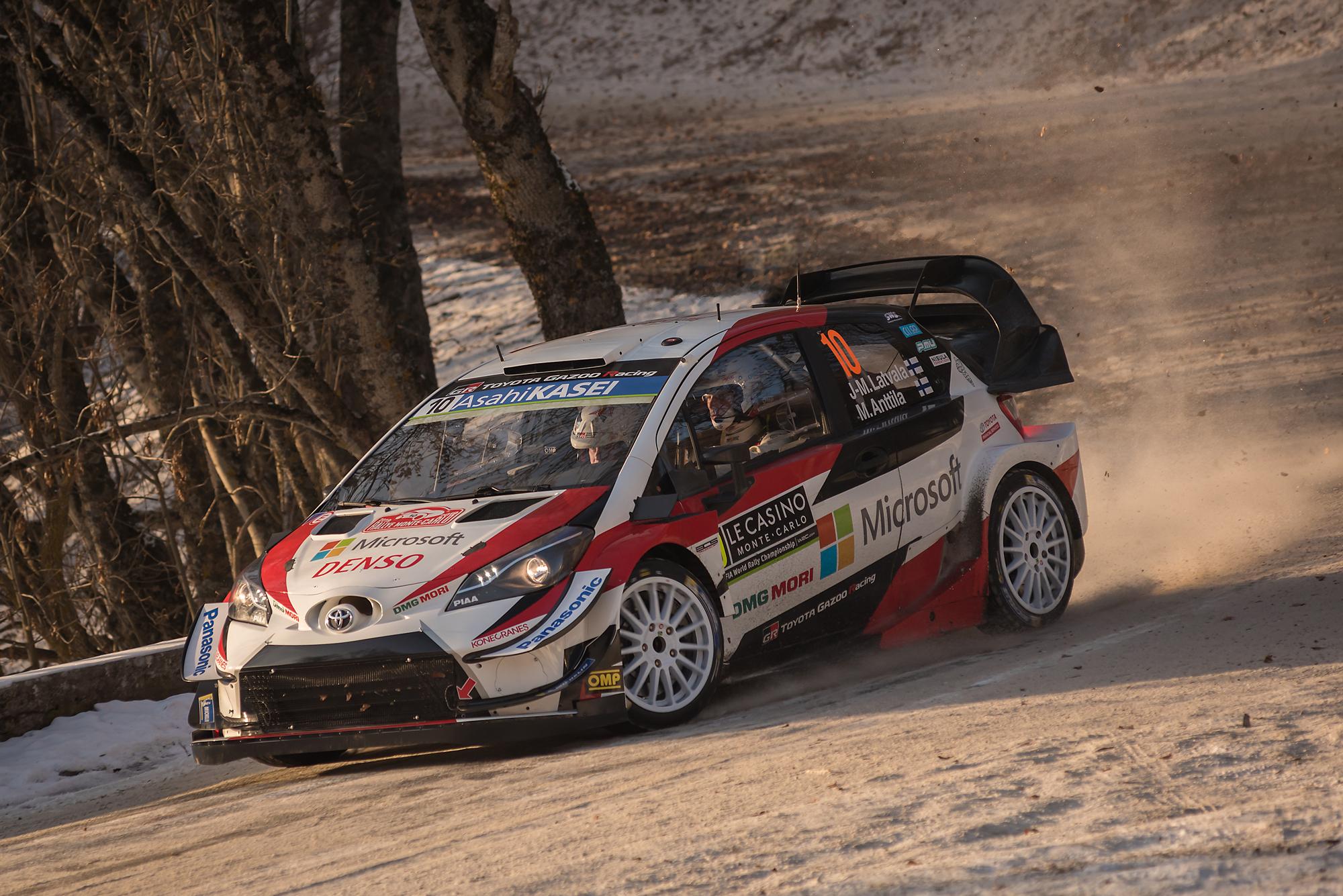 WRC Rallye de Montecarlo 2019-Latvala/Anttila...