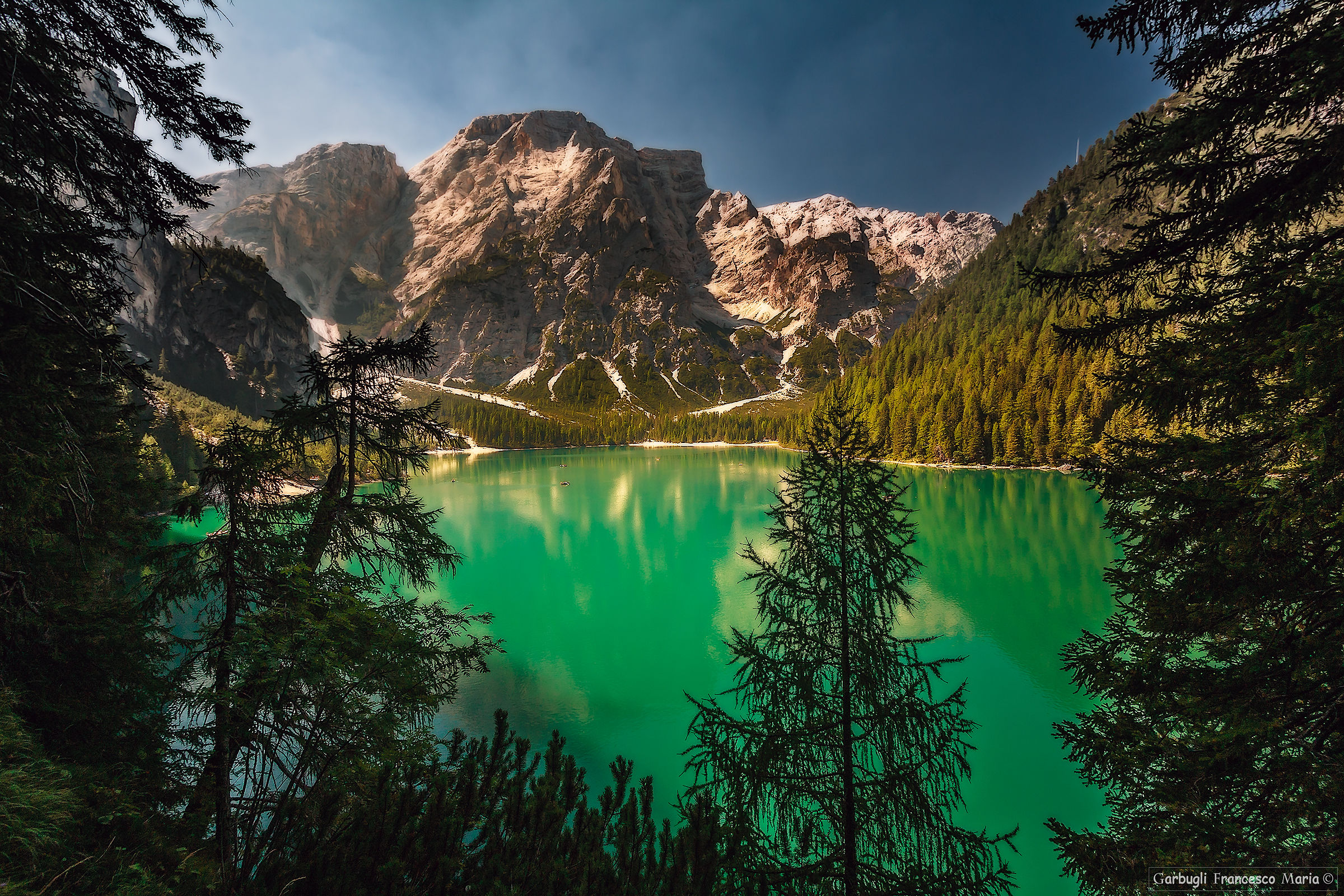 View from the path of braies...