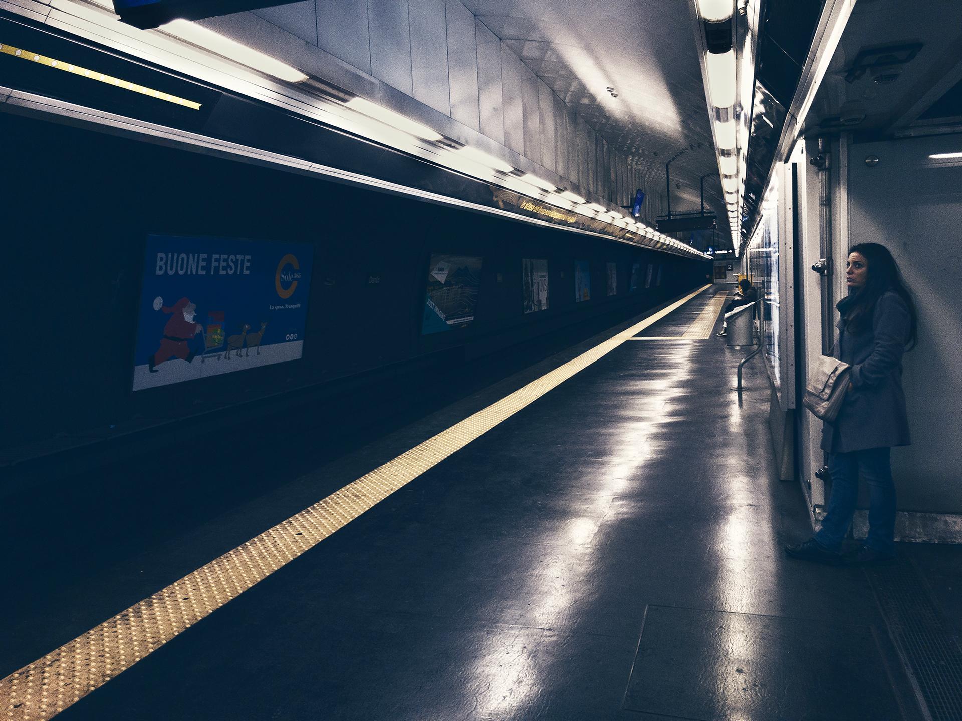 London underground....