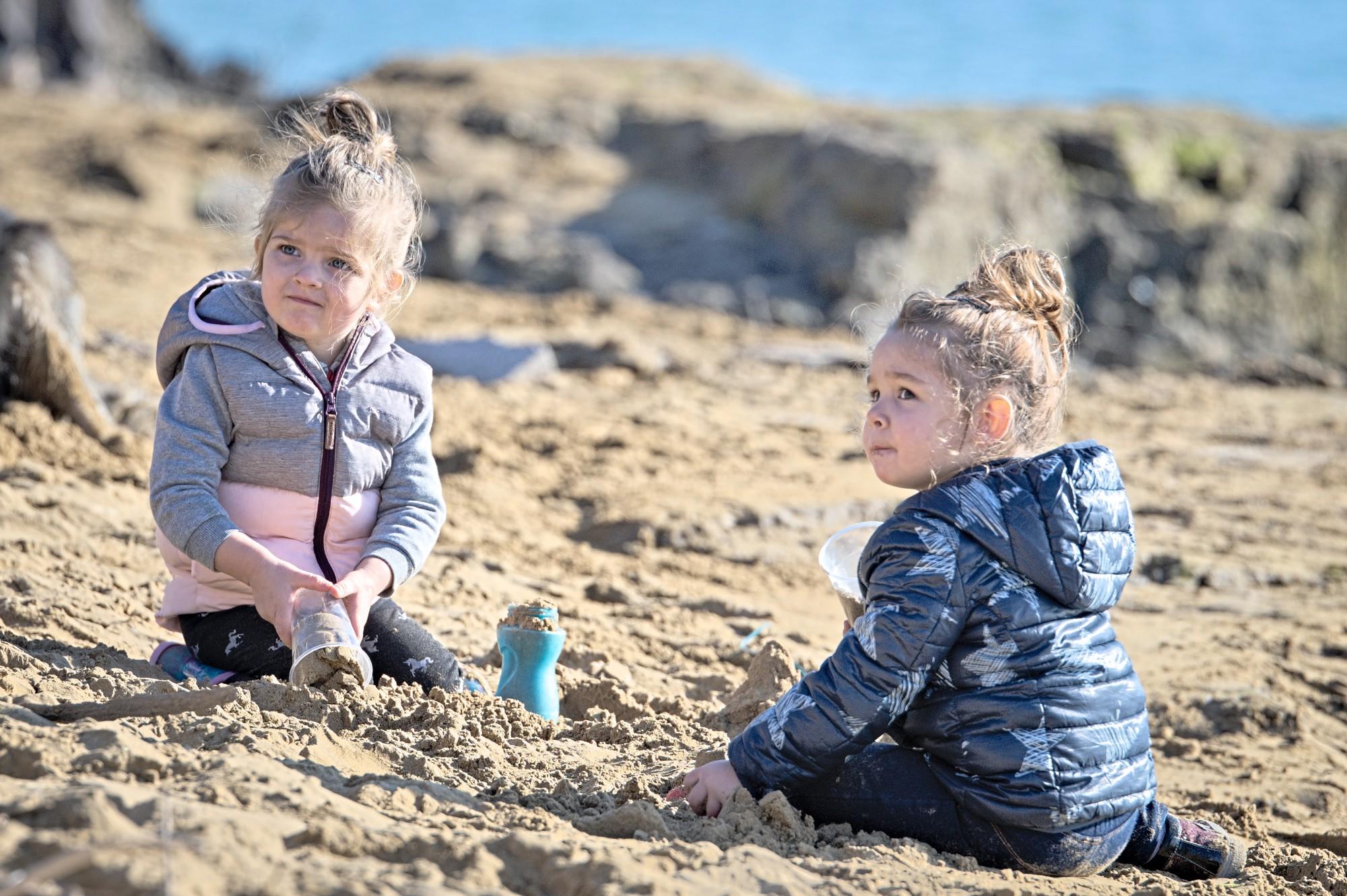 Giochi sulla sabbia...
