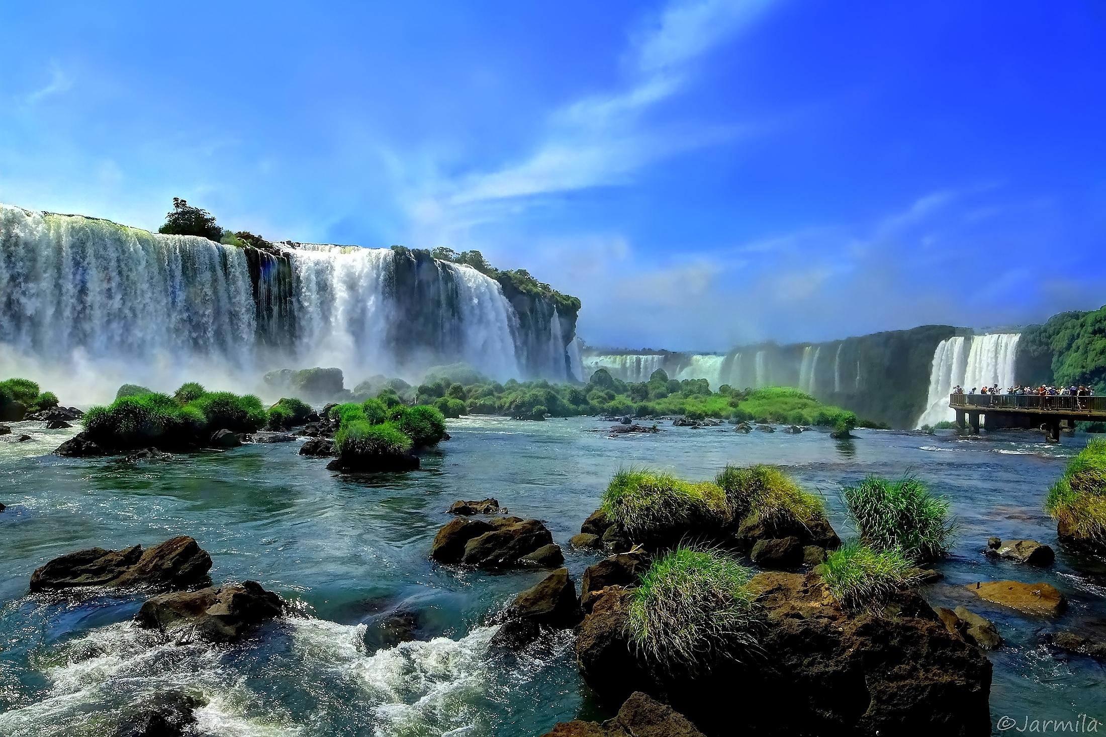 The Iguaçu Falls Iguaçu National Park (Br...