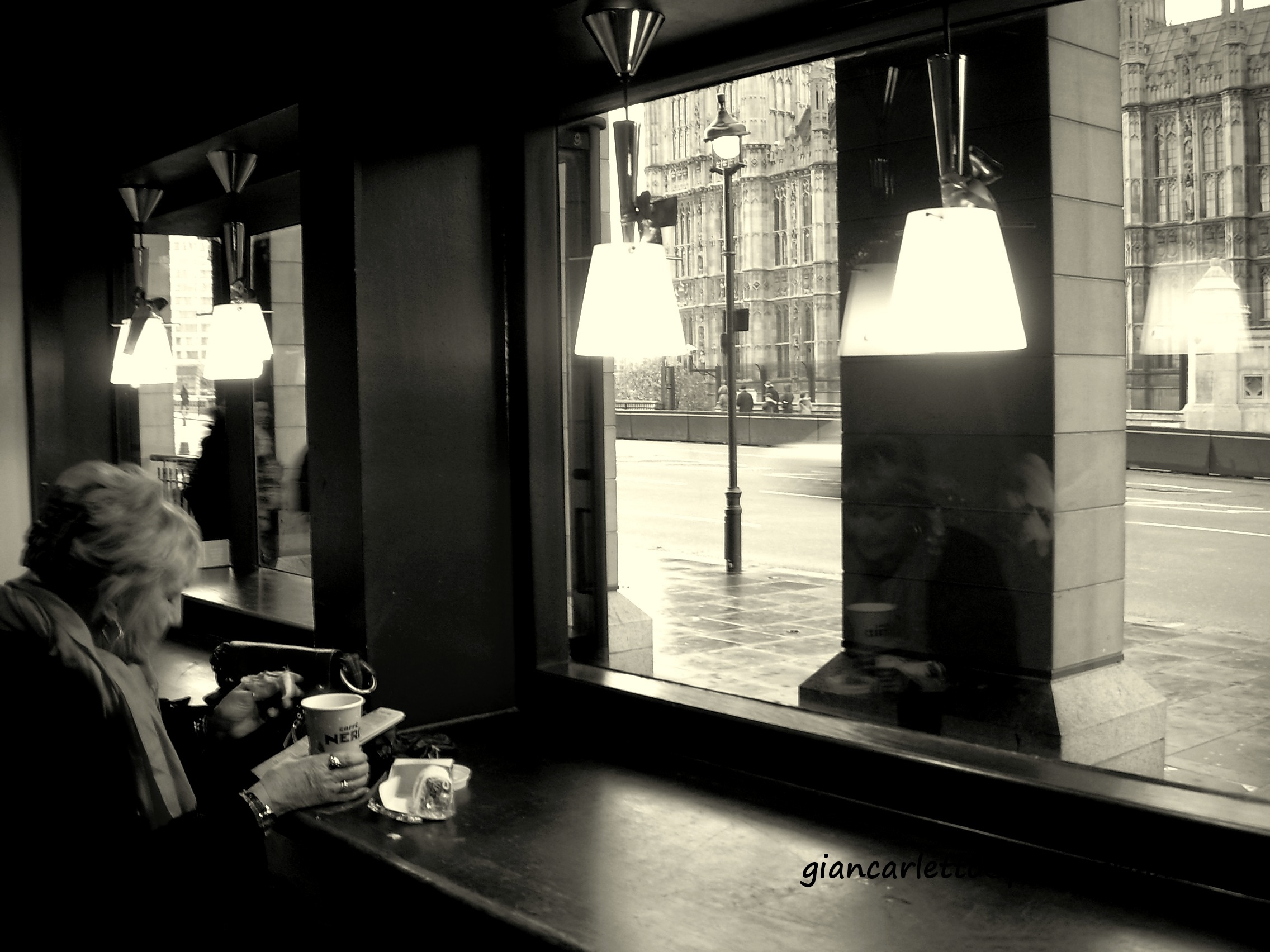 Coffee in London...
