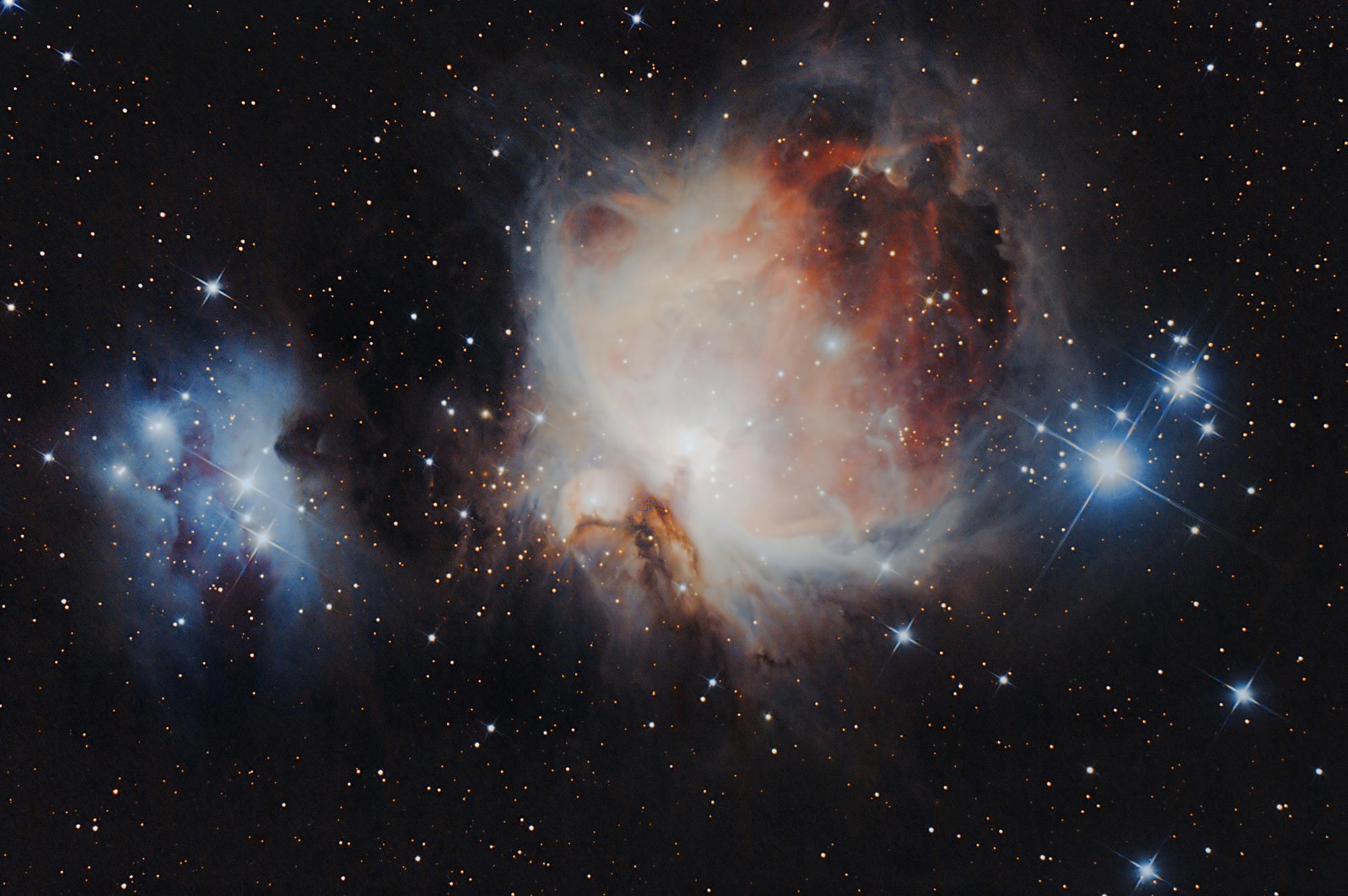 La grande nebulosa di Orione...