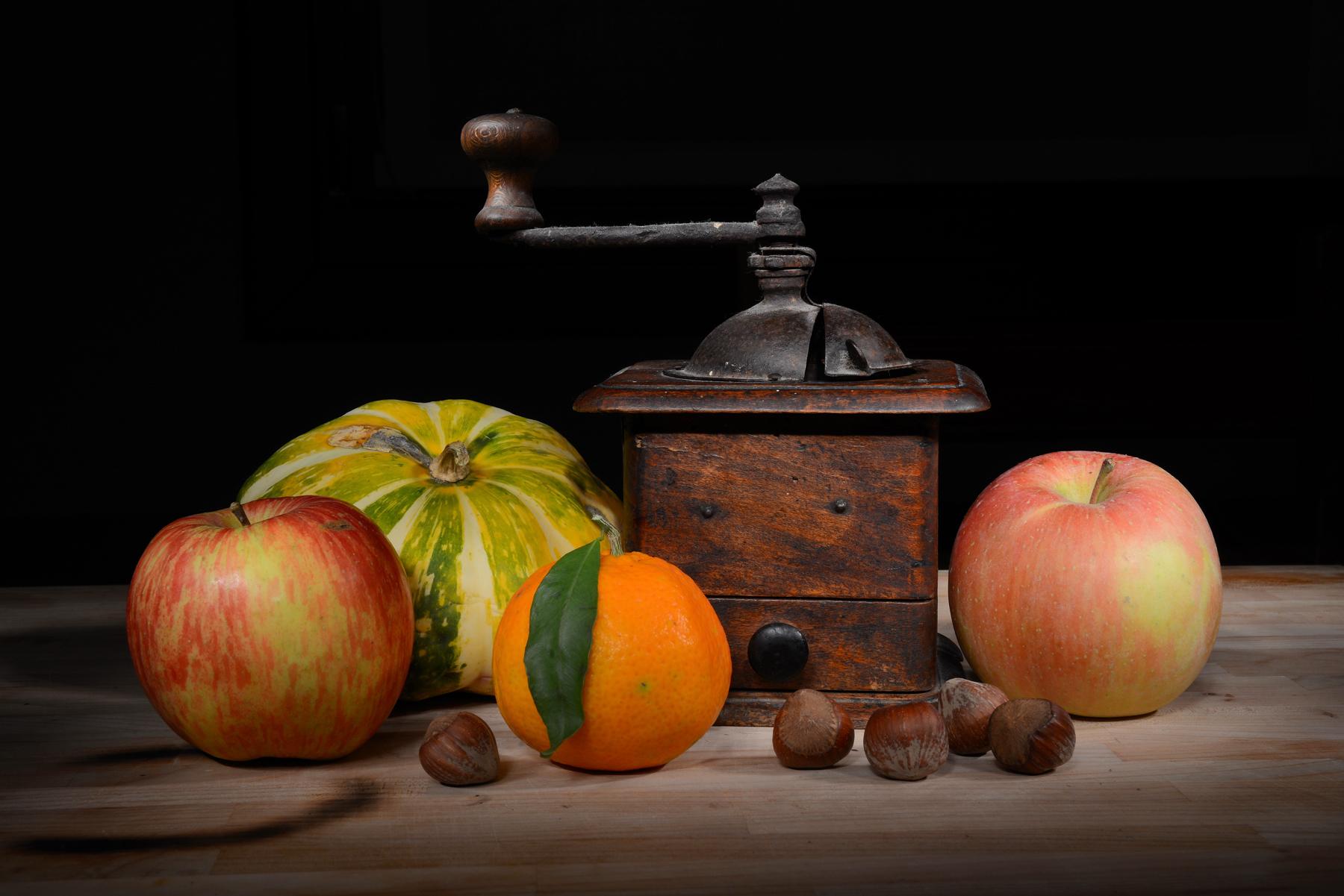 frutta con macinino...