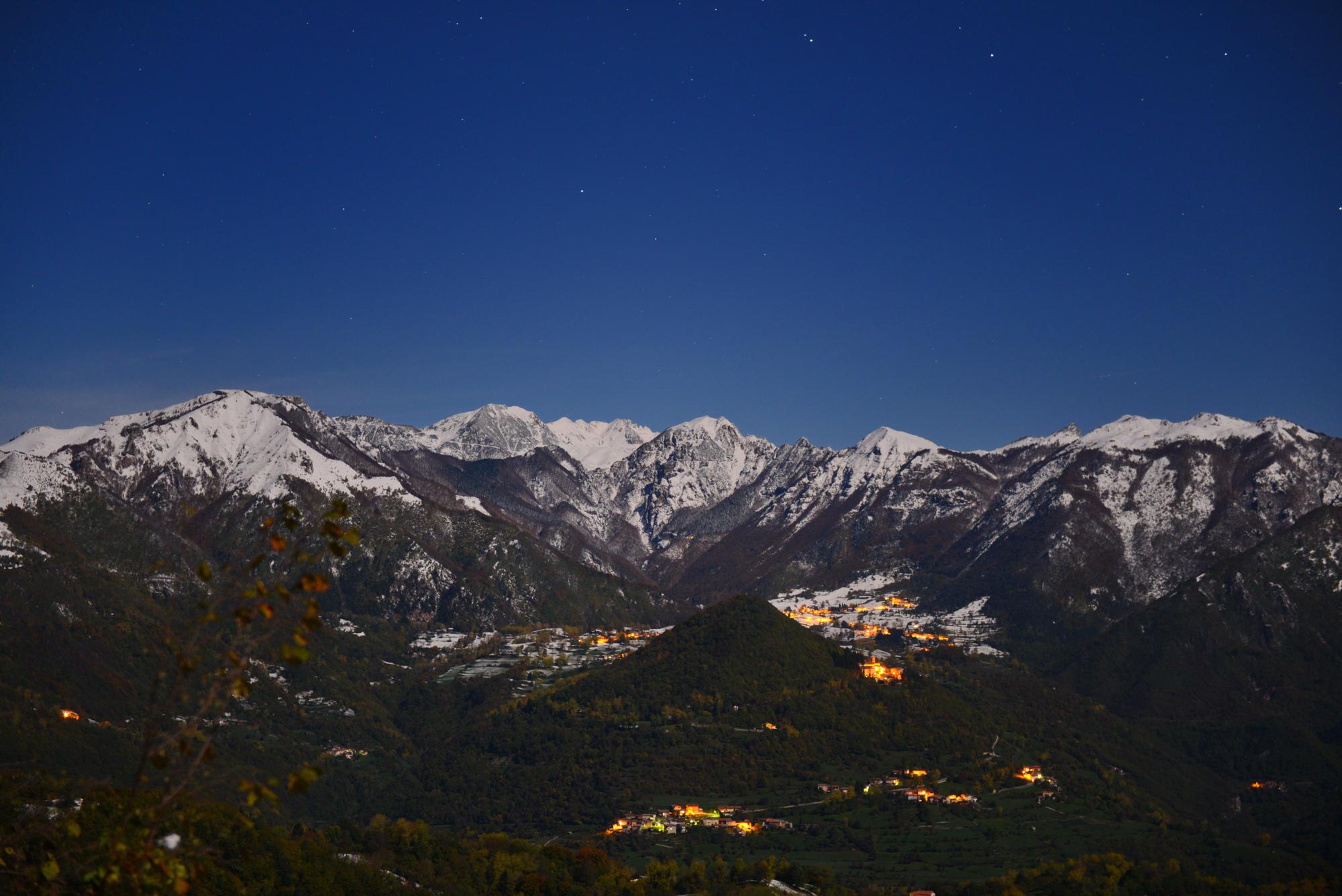 Notturno sulle Piccole Dolomiti...