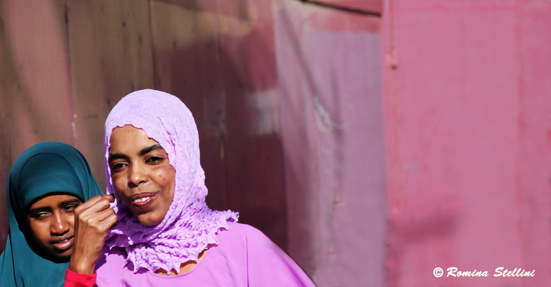 Muslim woman, Malta...