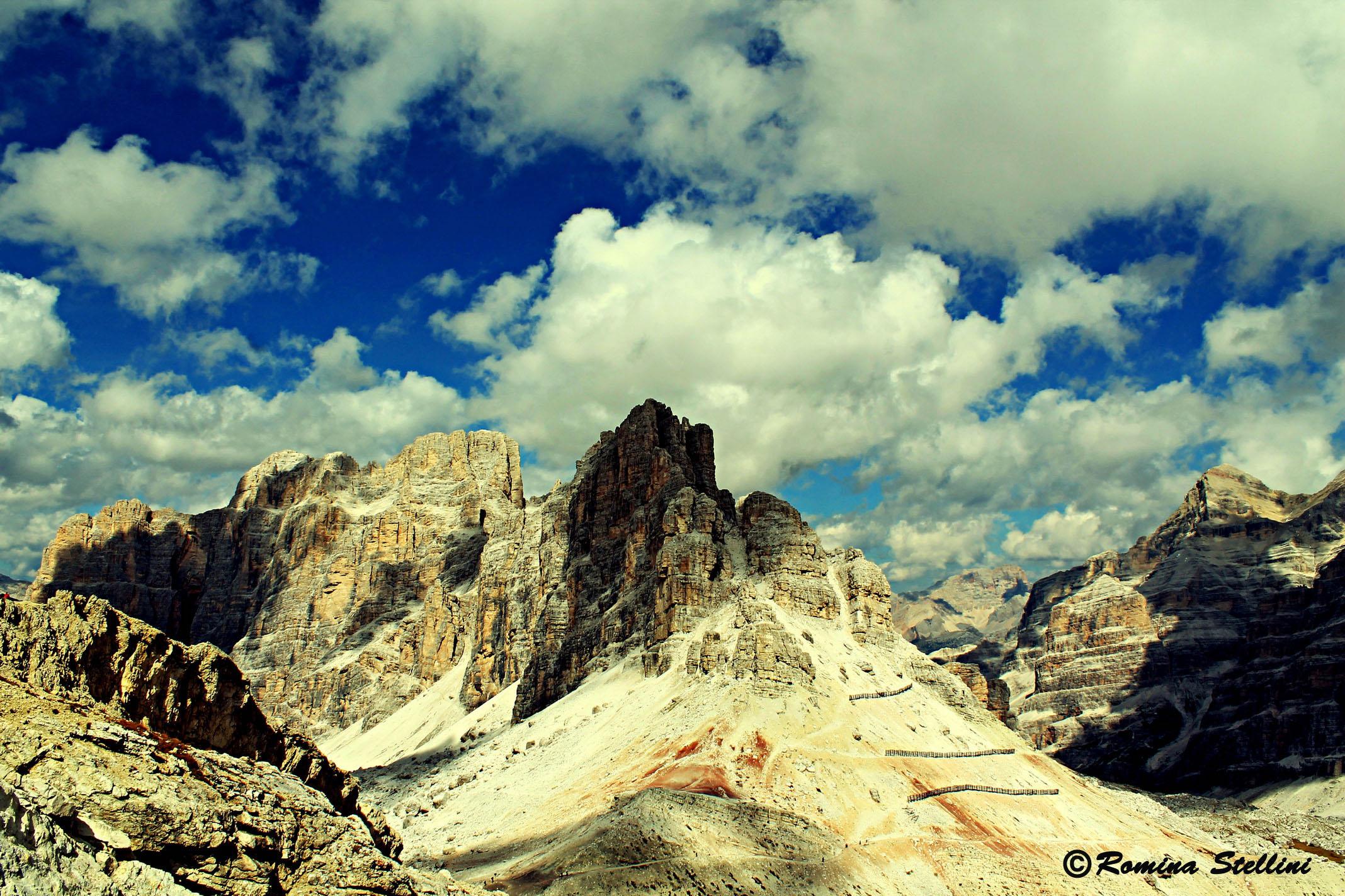 Lagazuoi 5 Torri / Italy...