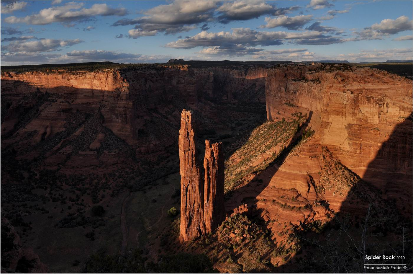 Spider Rock, Canyon de Chelly...