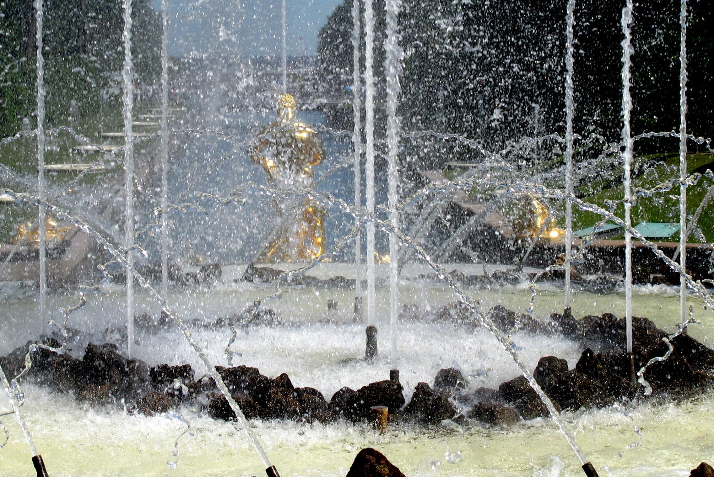 Fountain  (Petergof, Russia)...