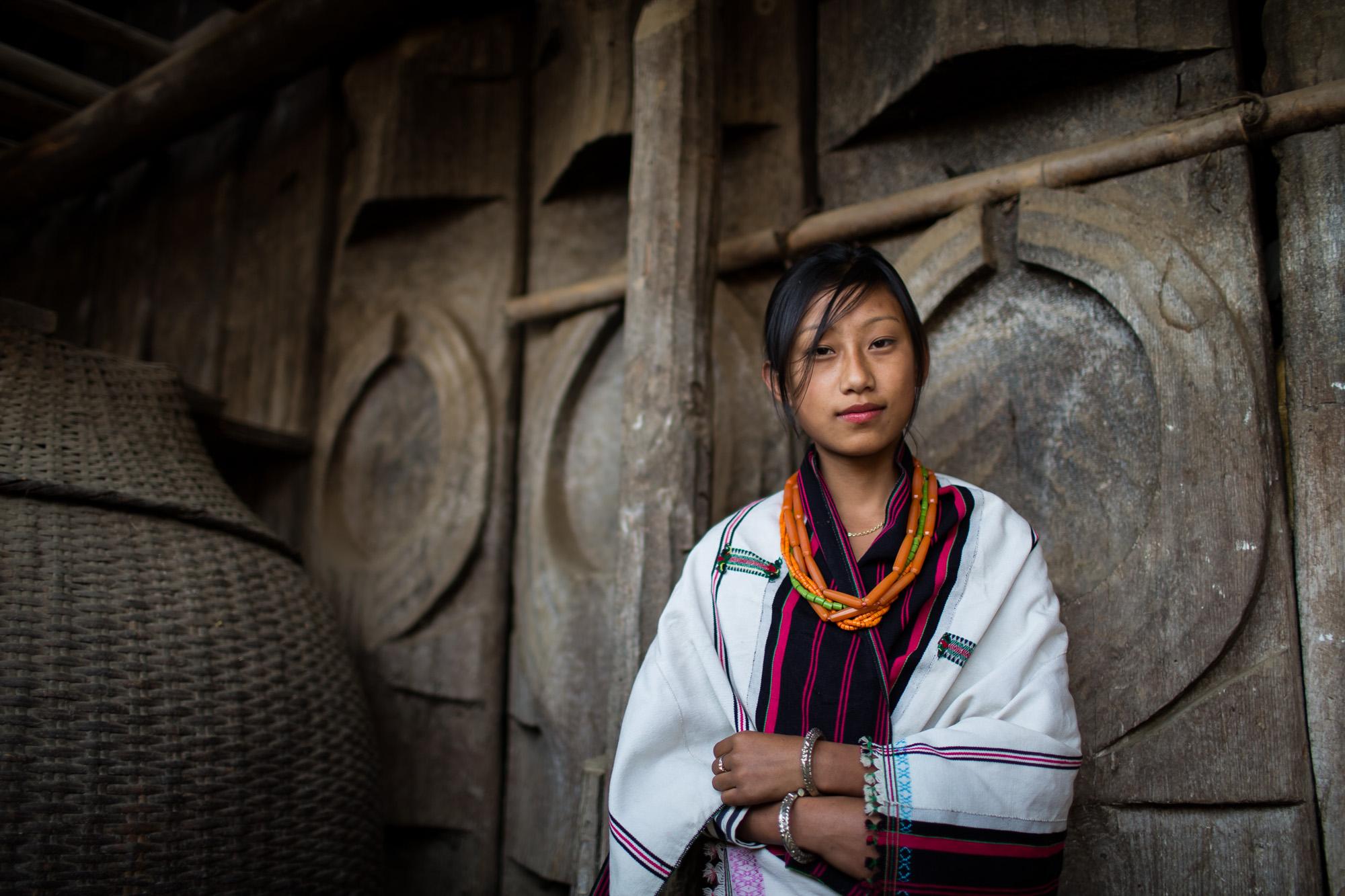angami beauty, Nagaland...