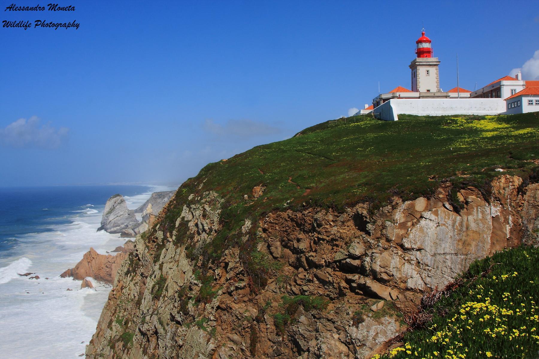 Lighthouse of Cabo da Roca...