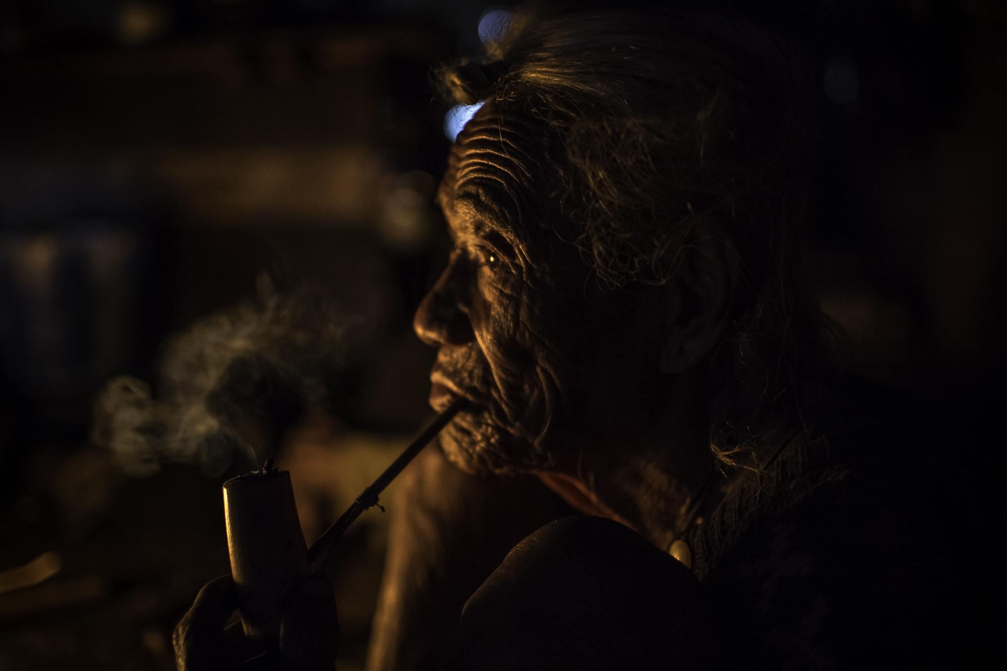old shaman...